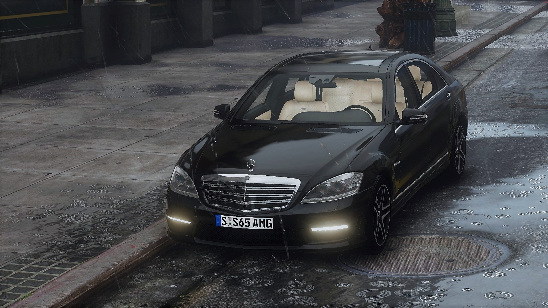 2012 mercedes benz s65 amg w221 add on tuning gta5 for Mercedes benz s600 amg 2010