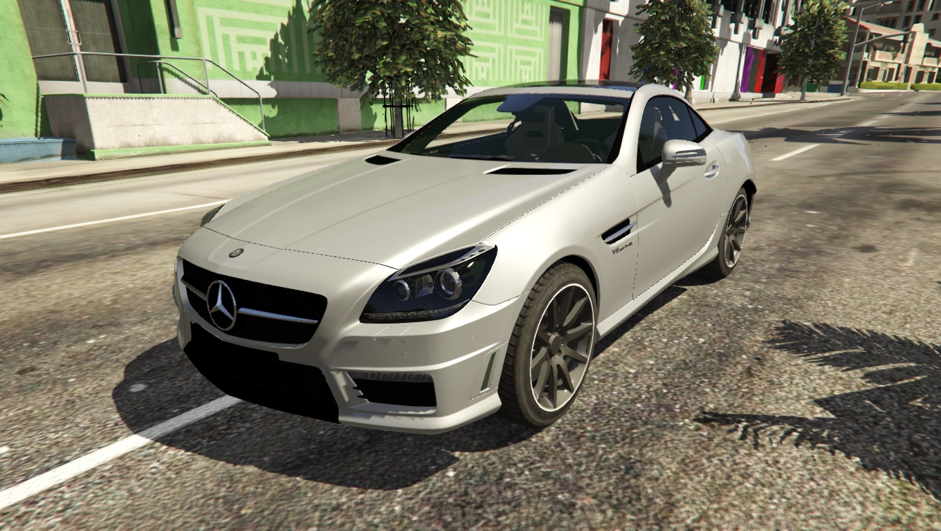 2012 mercedes benz slk 55 amg r172 gta5. Black Bedroom Furniture Sets. Home Design Ideas