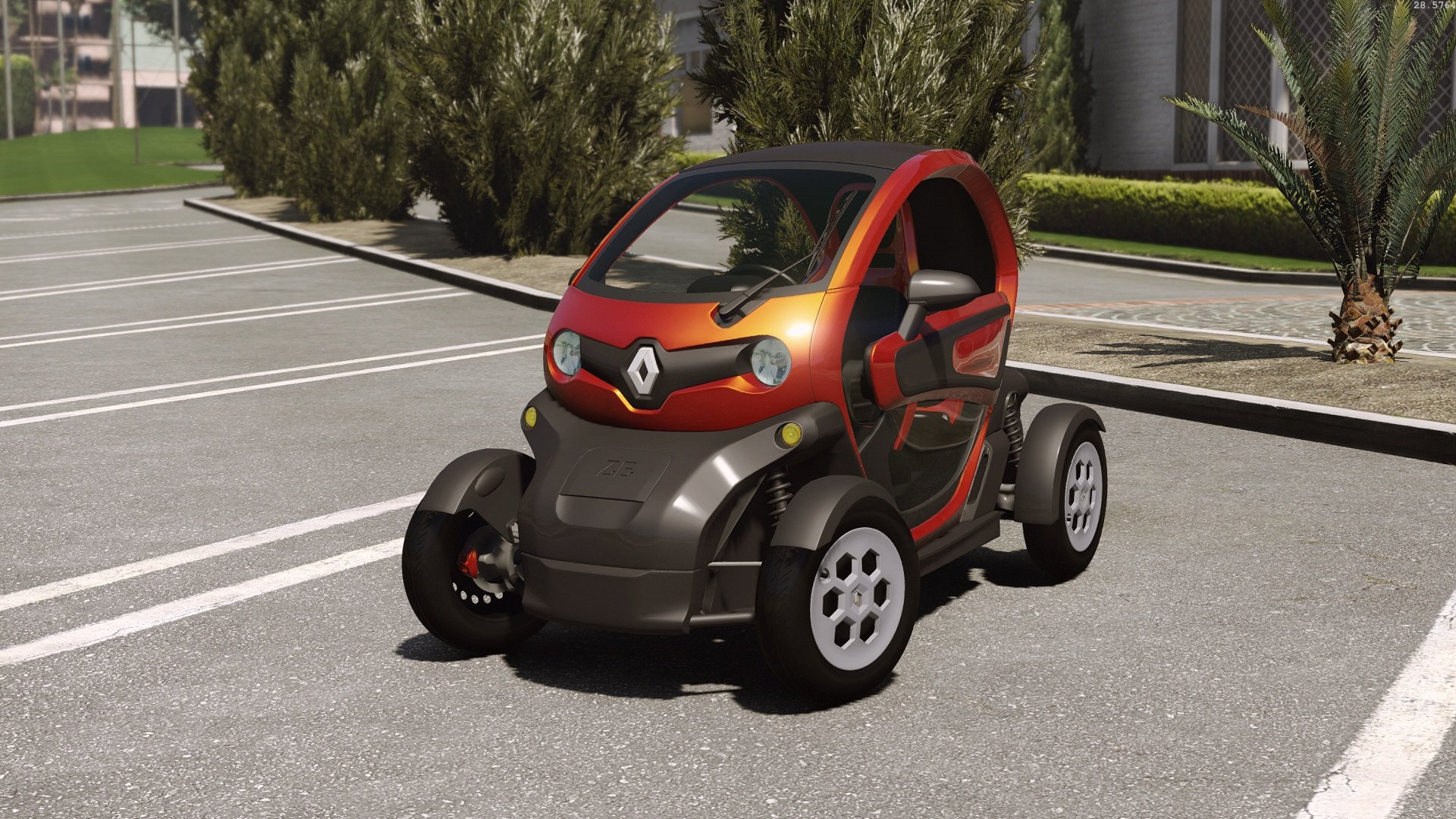 2012 Renault Twizy Add On F1 Tuning Hq Gta5 Mods Com