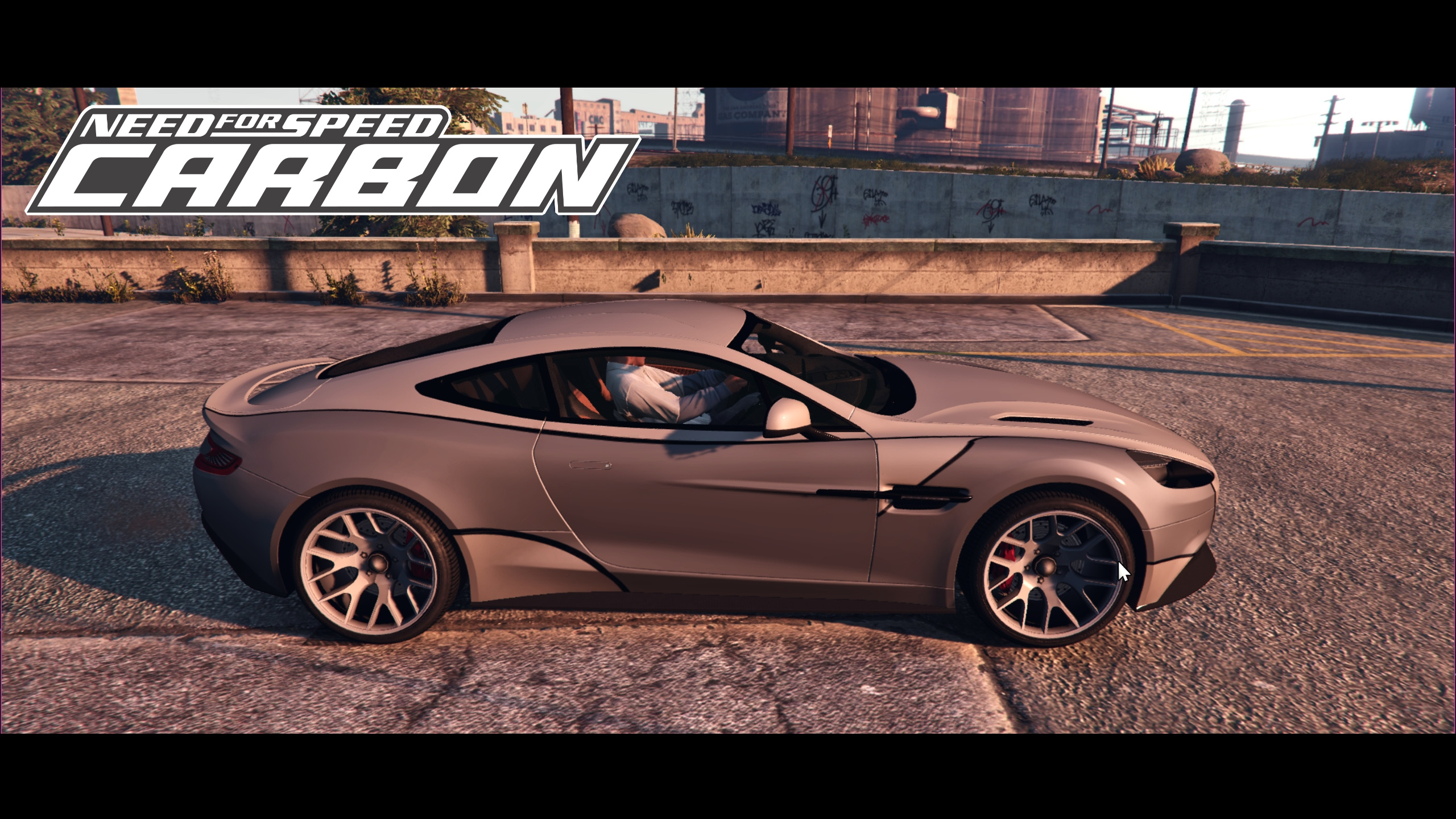2013 Aston Martin Vanquish Wolf Need For Speed Carbon Paintjob Gta5 Mods Com