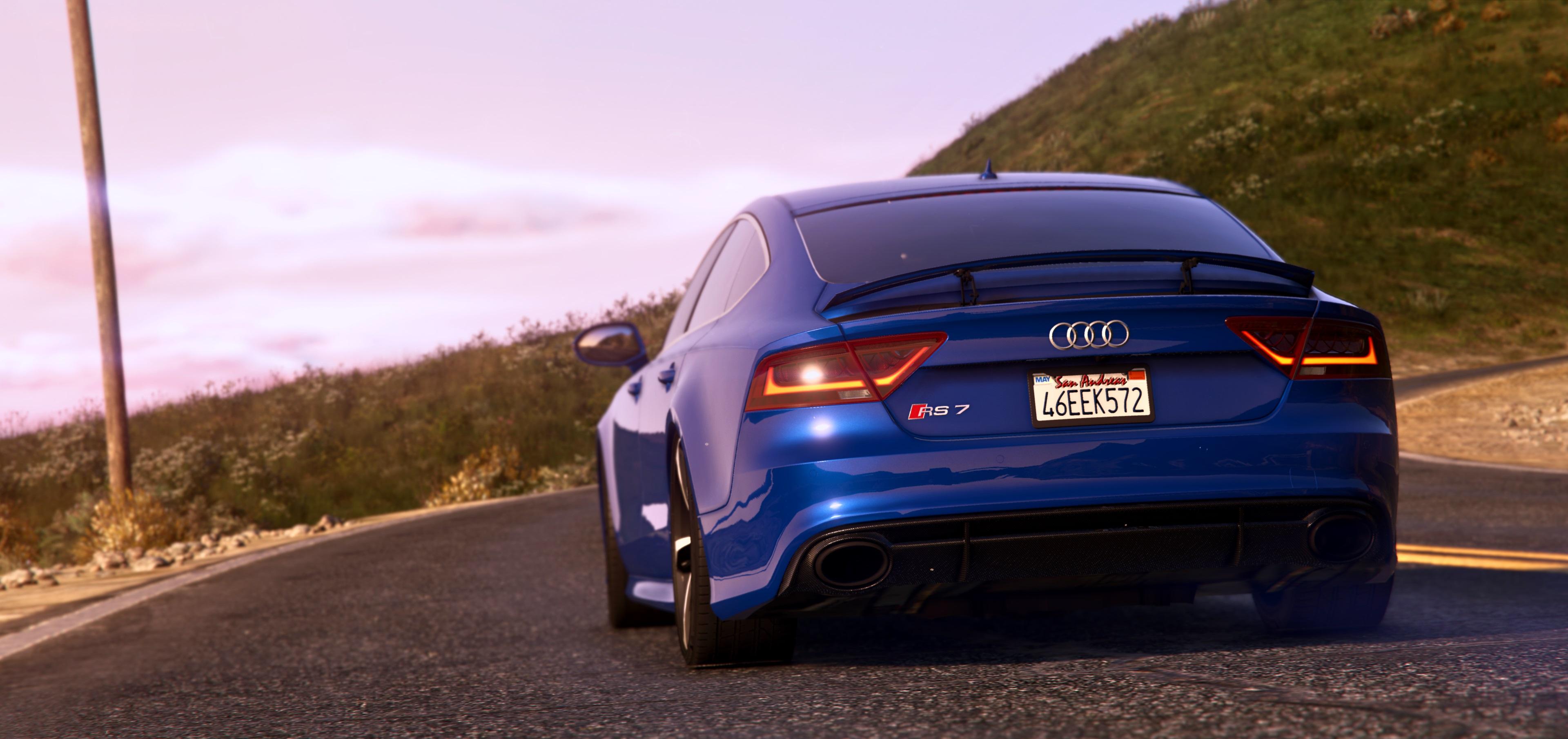 Audi RS GTAModscom - Audi rs7