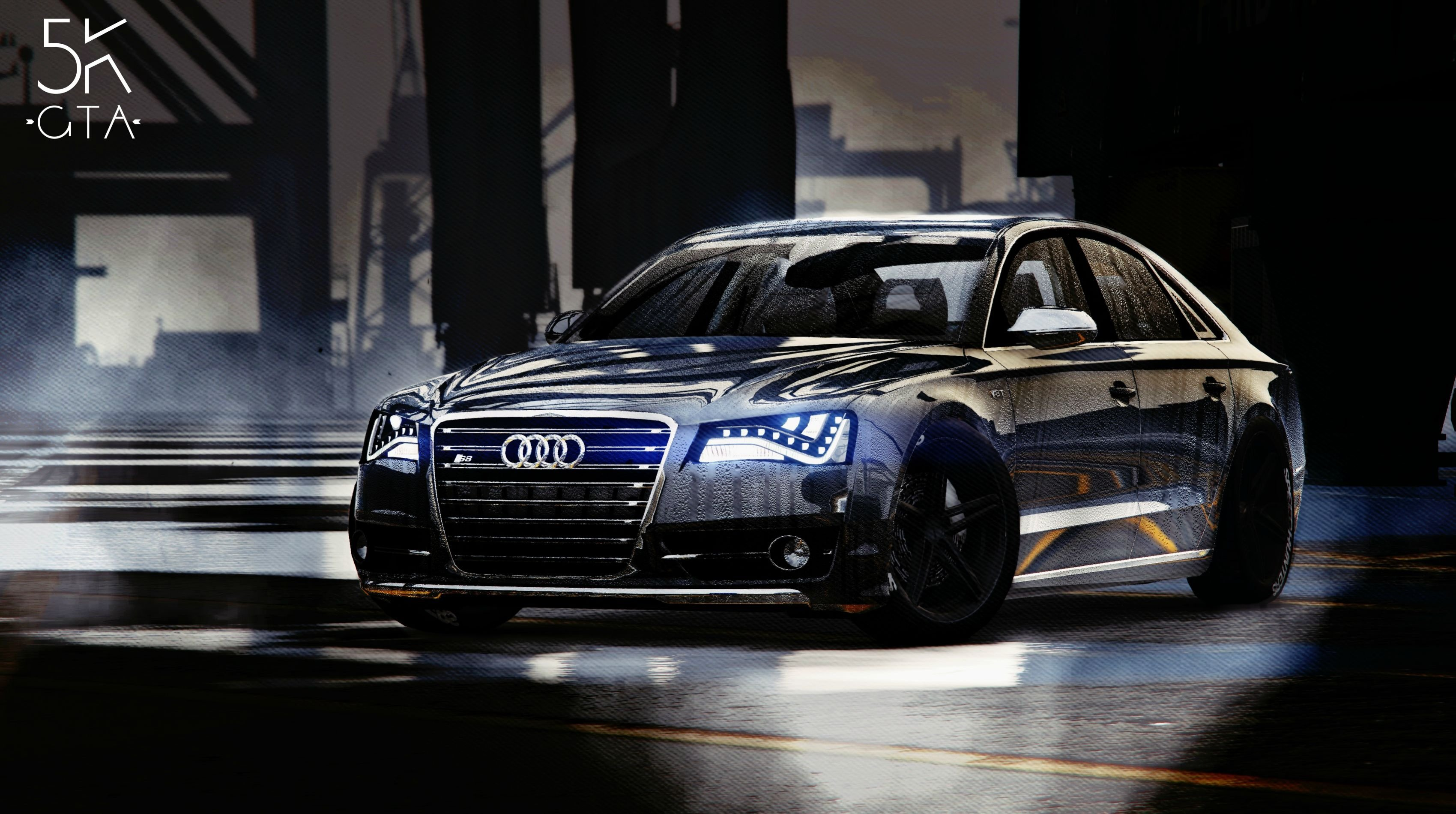 2013 Audi S8 4 0tfsi Quattro Add On Replace Gta5