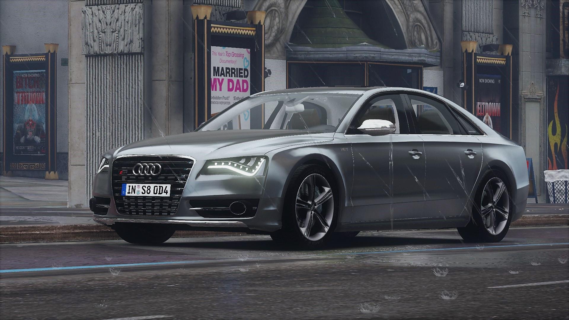 2013 Audi S8 (D4) Add-On  - GTA5-Mods.com