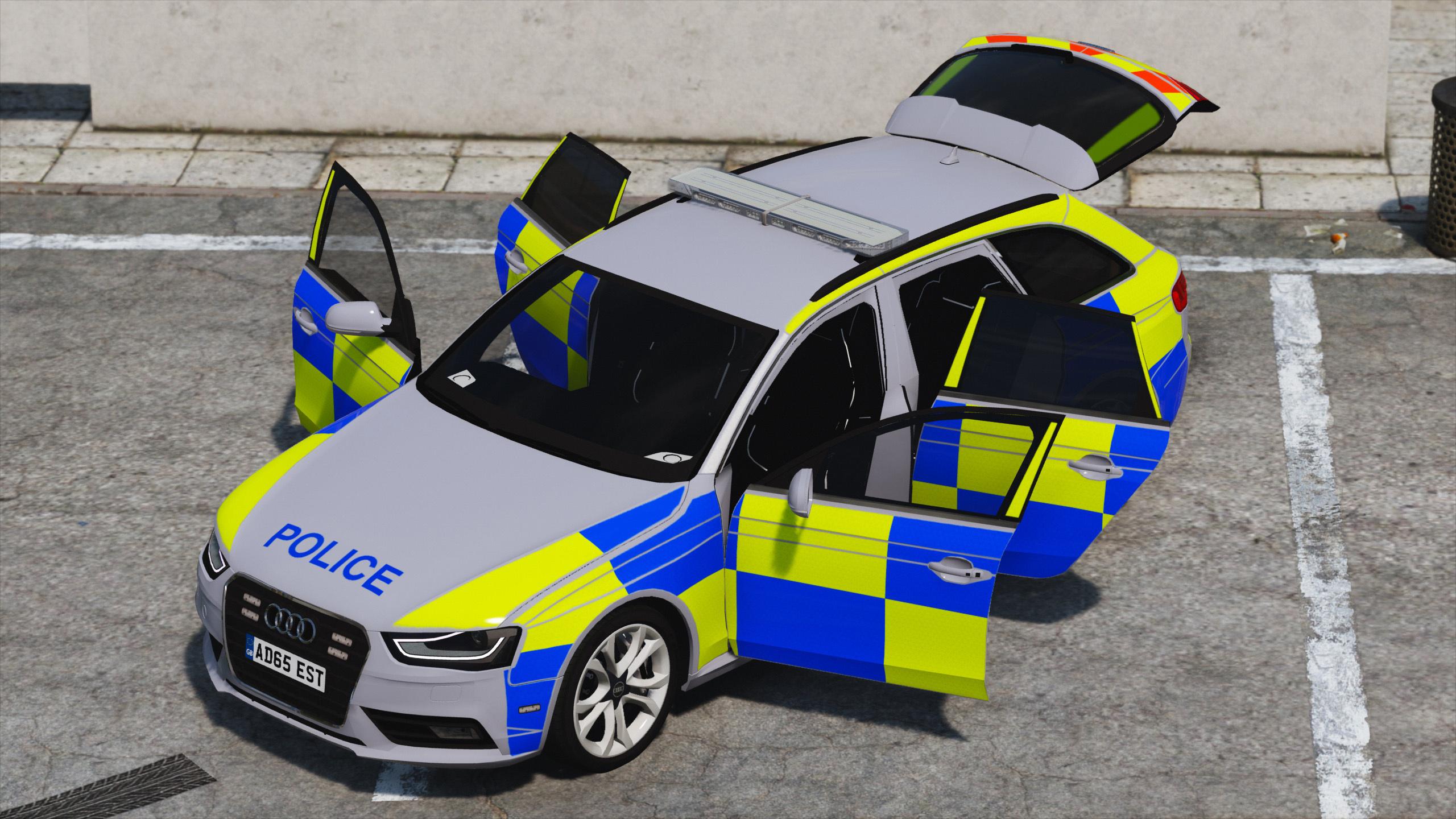 2013 British Police Audi A4 S4 Avant Gta5 Mods Com