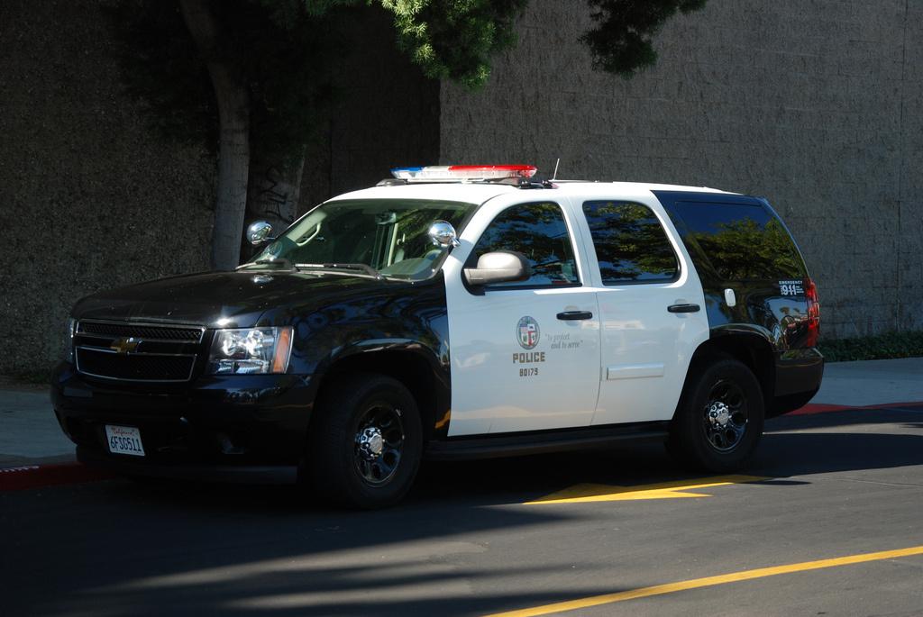Chevrolet Tahoe LAPD Unlocked Template K GTAModscom - 2013 chevy tahoe pics
