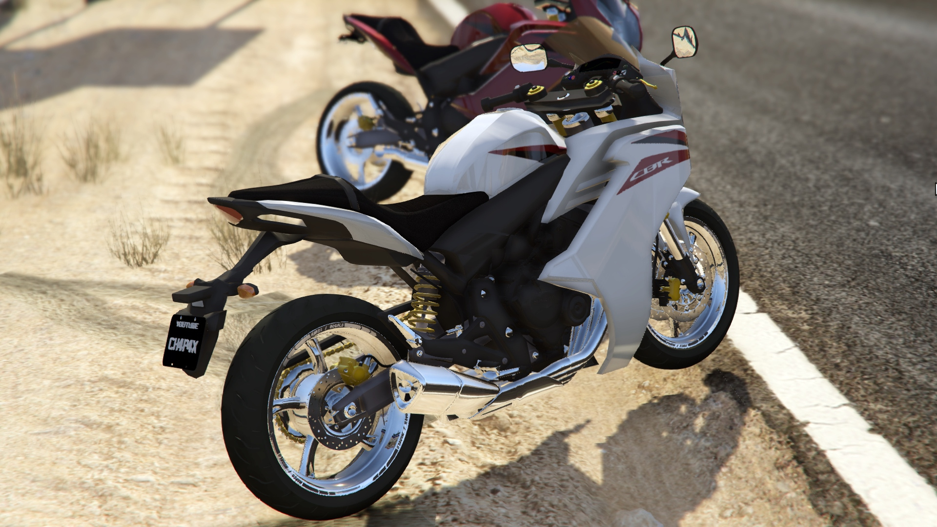 2013 honda cbr600f gta5. Black Bedroom Furniture Sets. Home Design Ideas