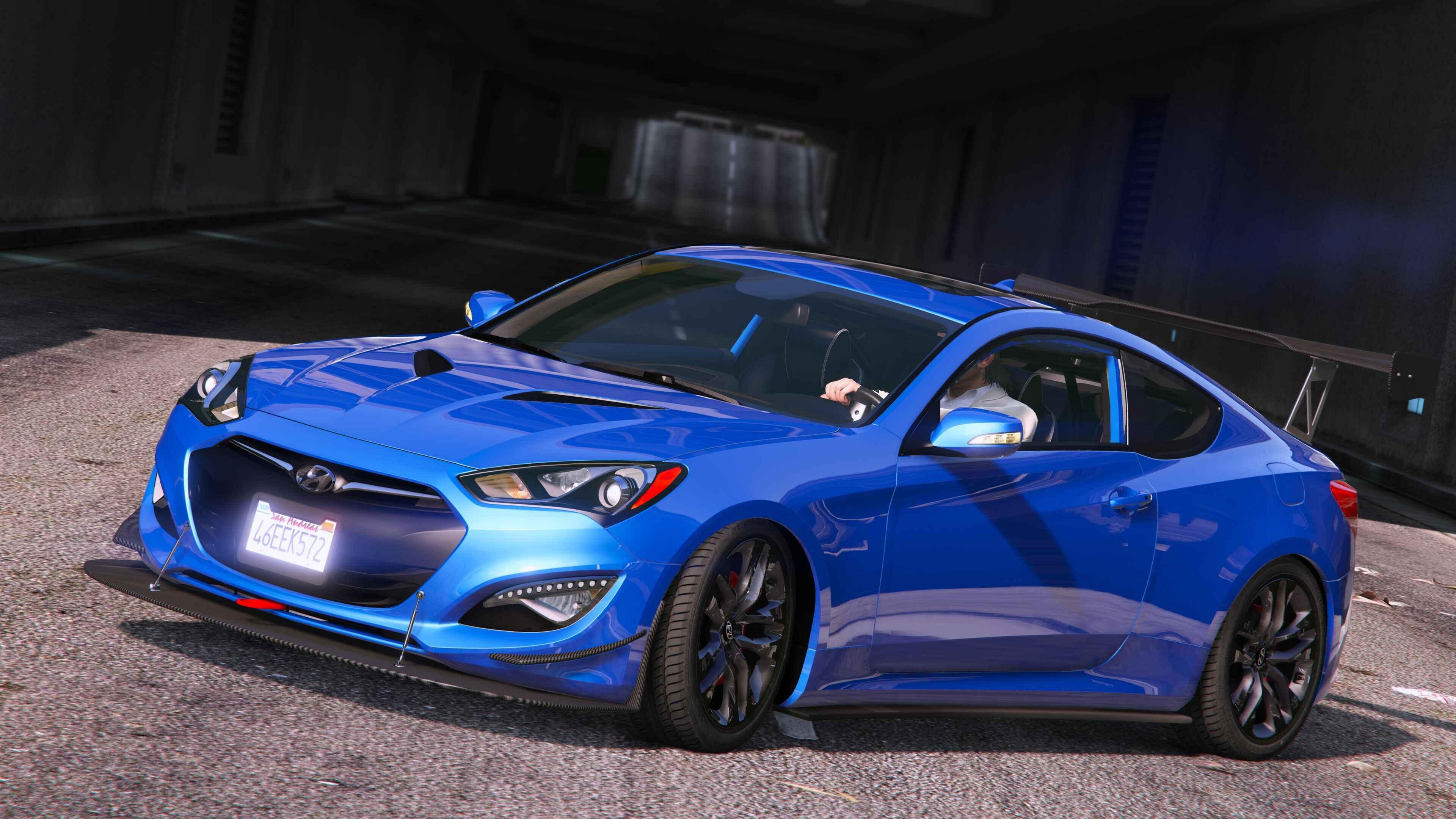 【GTA5】車Mod ヒュンダイ・ジェネシス クーペ 2013