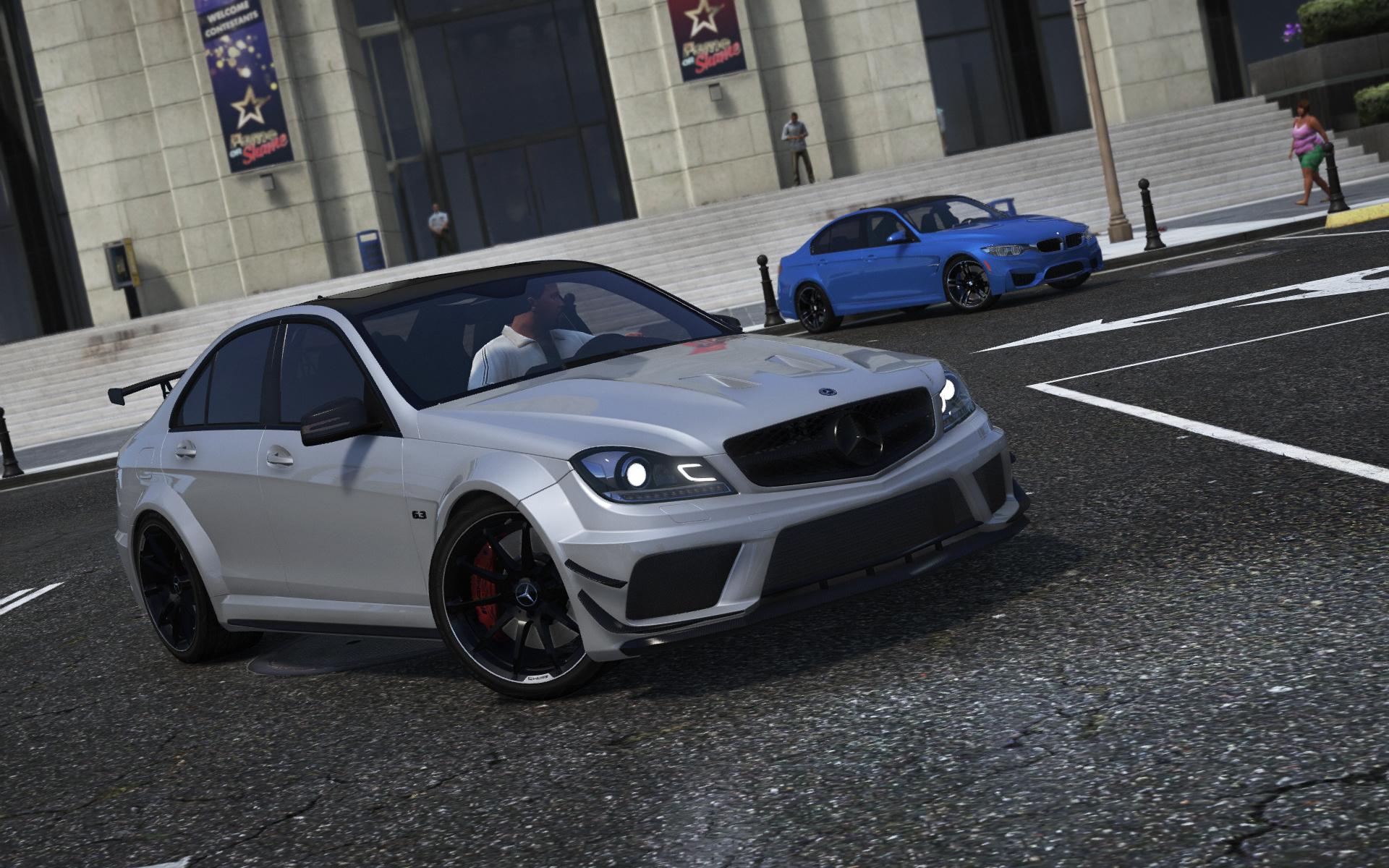 2013 Mercedes-AMG C63 (W204) Facelift [Add-On | Black Series