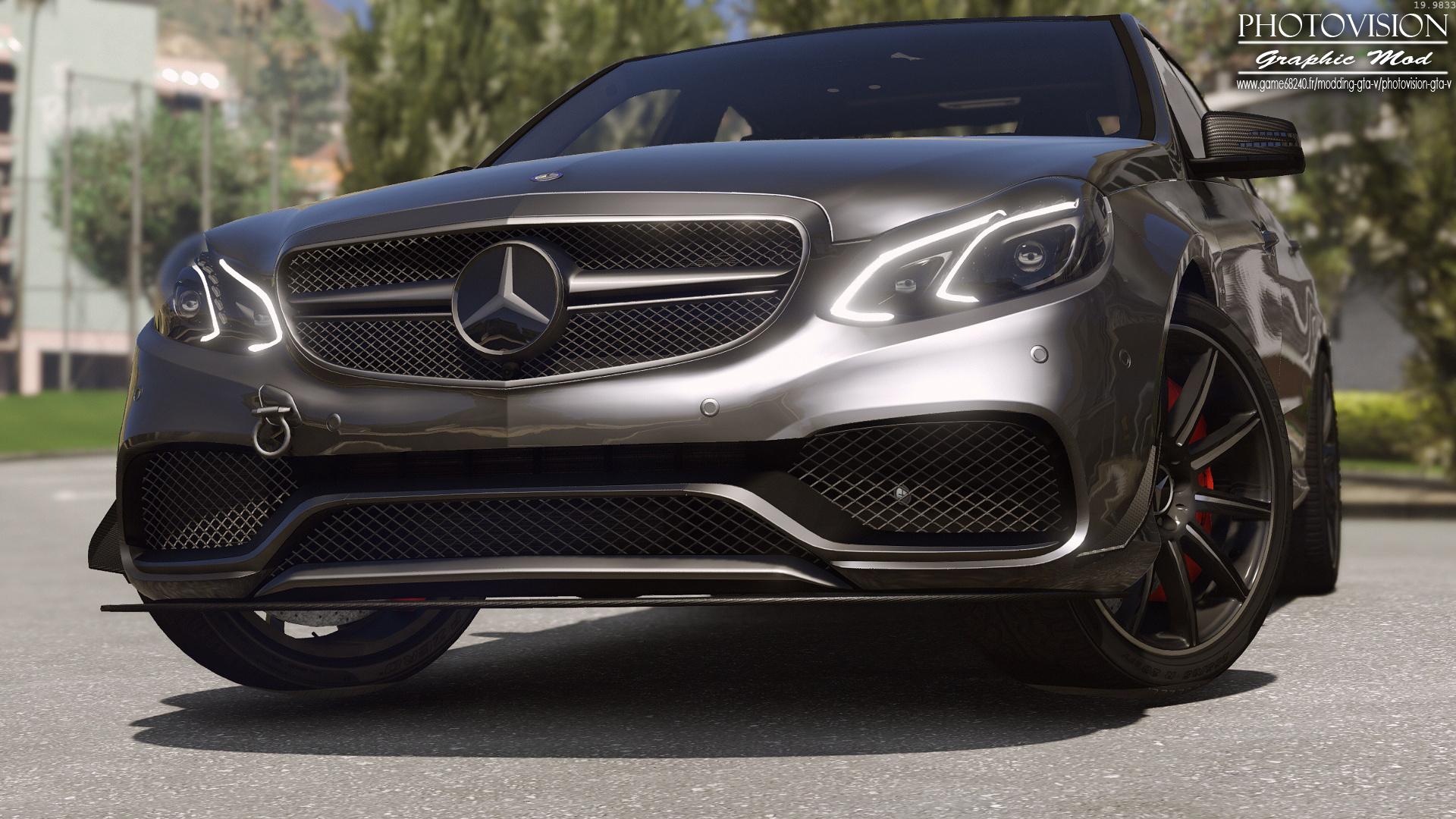 2013 Mercedes Benz E63 AMG [Add Replace Template