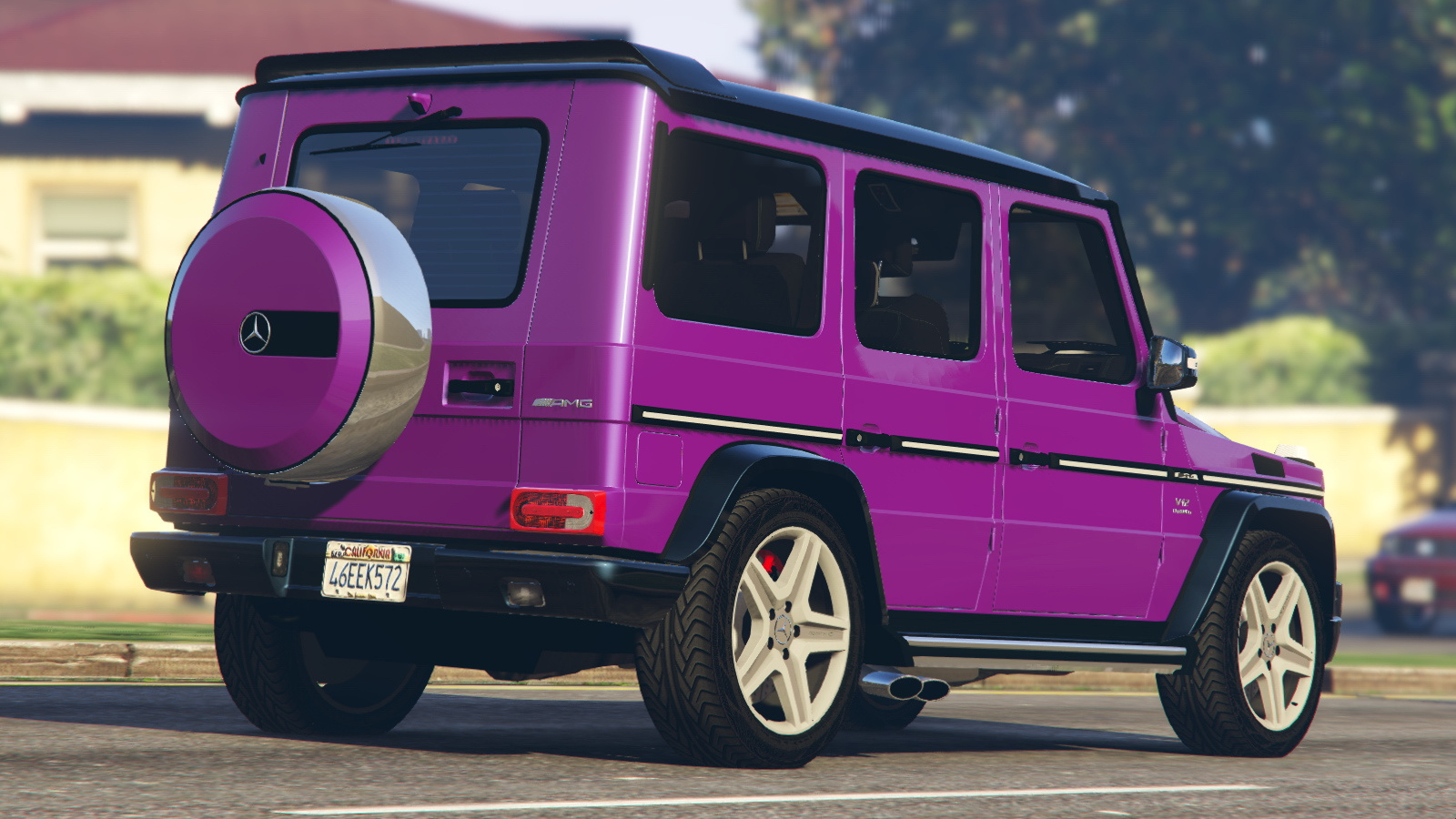 2013 mercedes benz g65 crazy color edition paintjob for Mercedes benz g65
