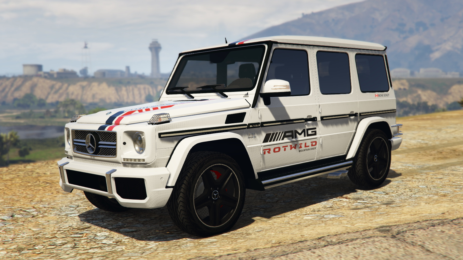 "2013 mercedes-benz g65 ""richie schley's amg"" paintjob - gta5-mods"