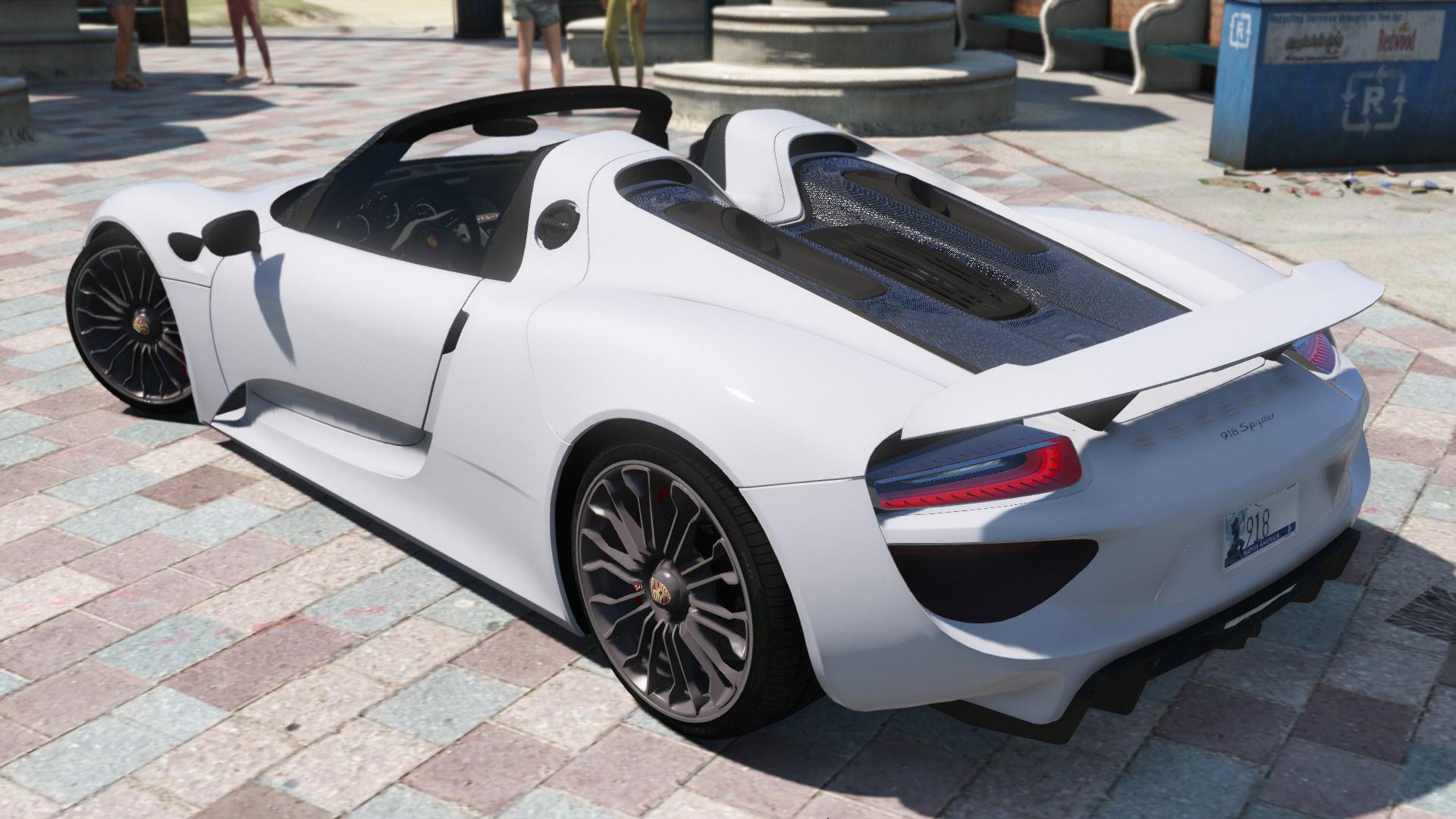 2013 Porsche 918 - GTA5-Mods com