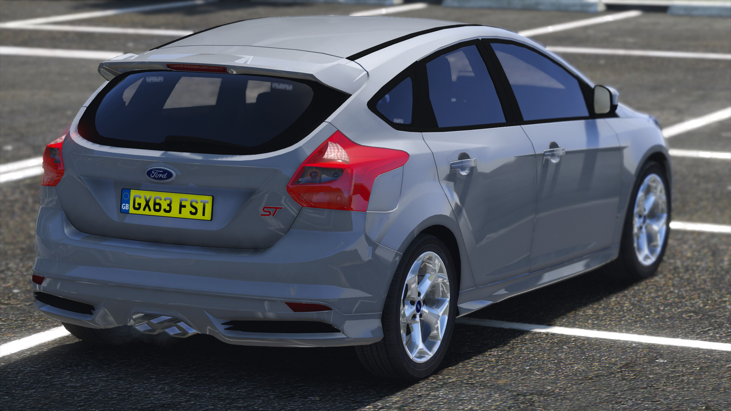 2013 surrey police ford focus st gta5. Black Bedroom Furniture Sets. Home Design Ideas