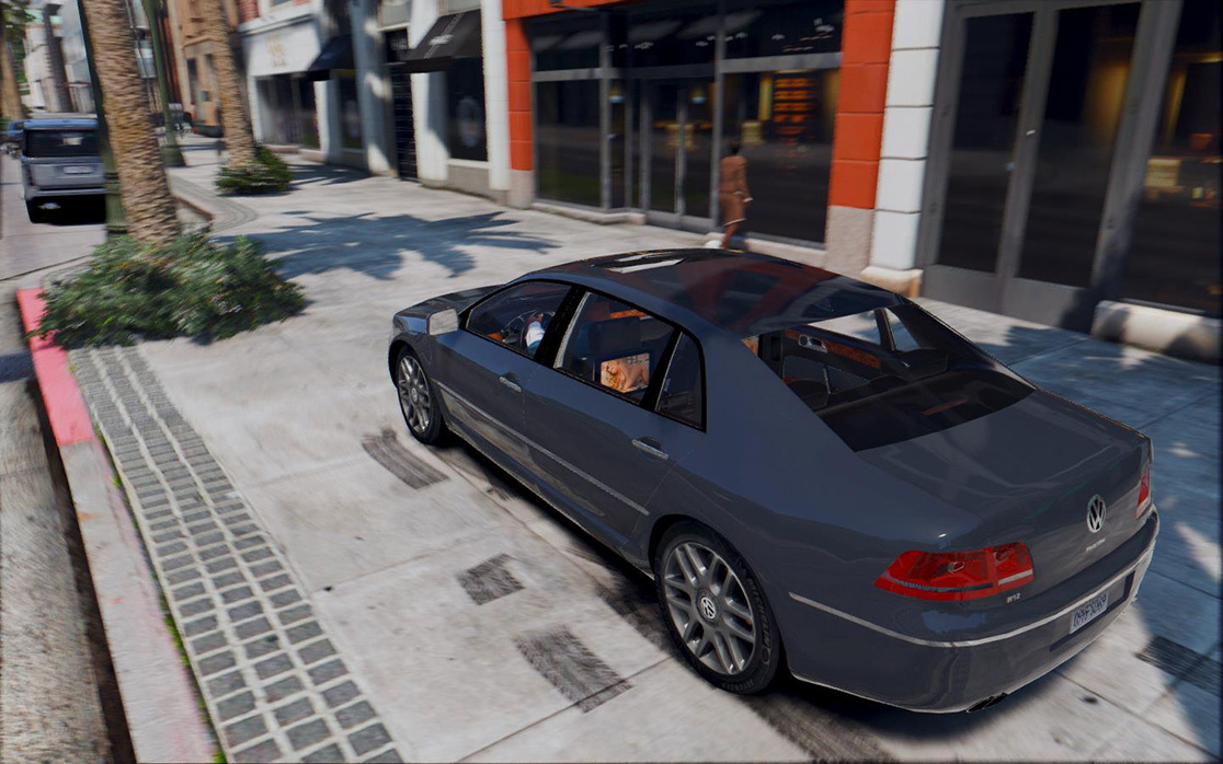 2013 volkswagen phaeton w12 gta5. Black Bedroom Furniture Sets. Home Design Ideas