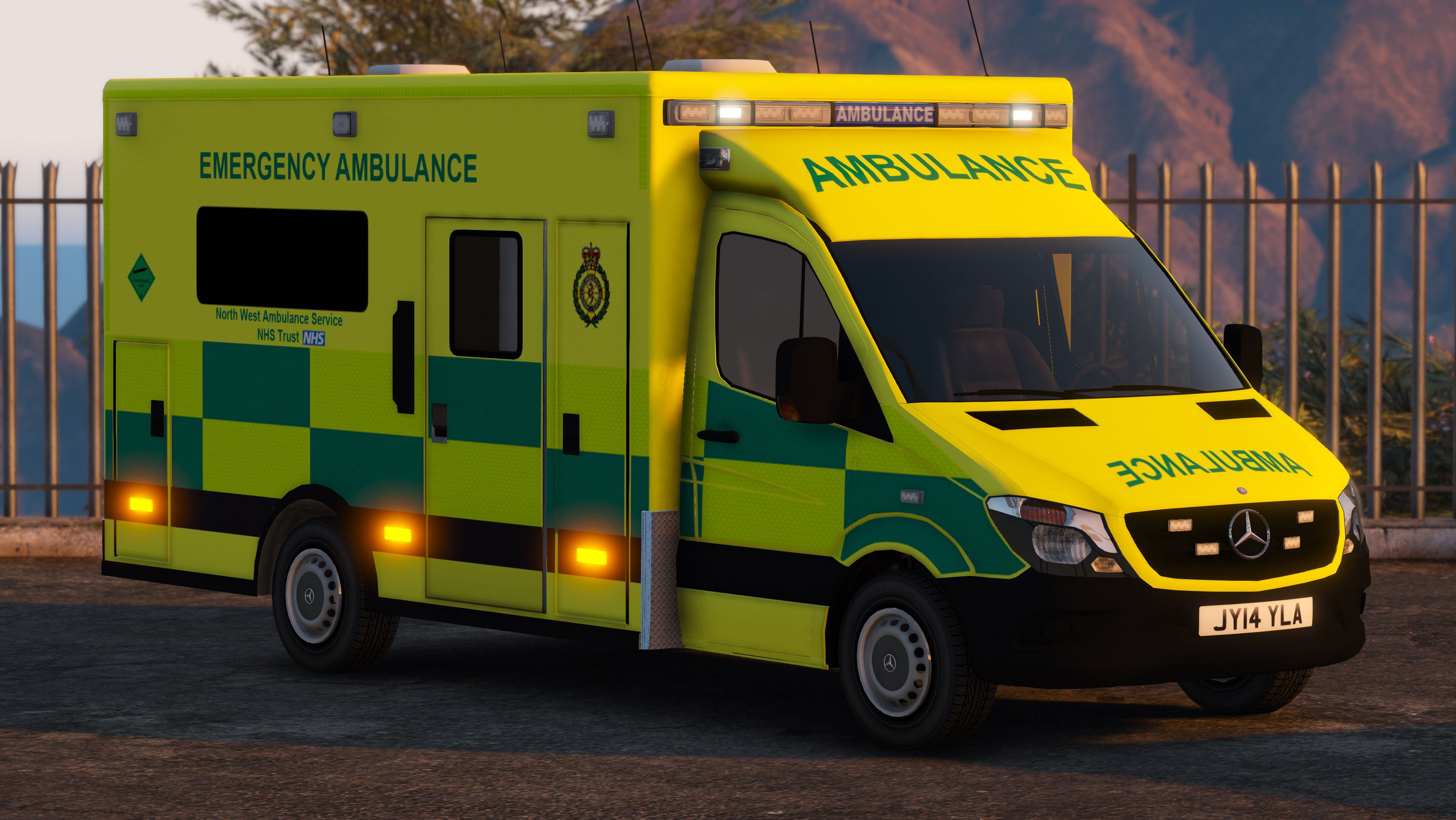 2014 British Mercedes Sprinter Ambulance - GTA5-Mods com