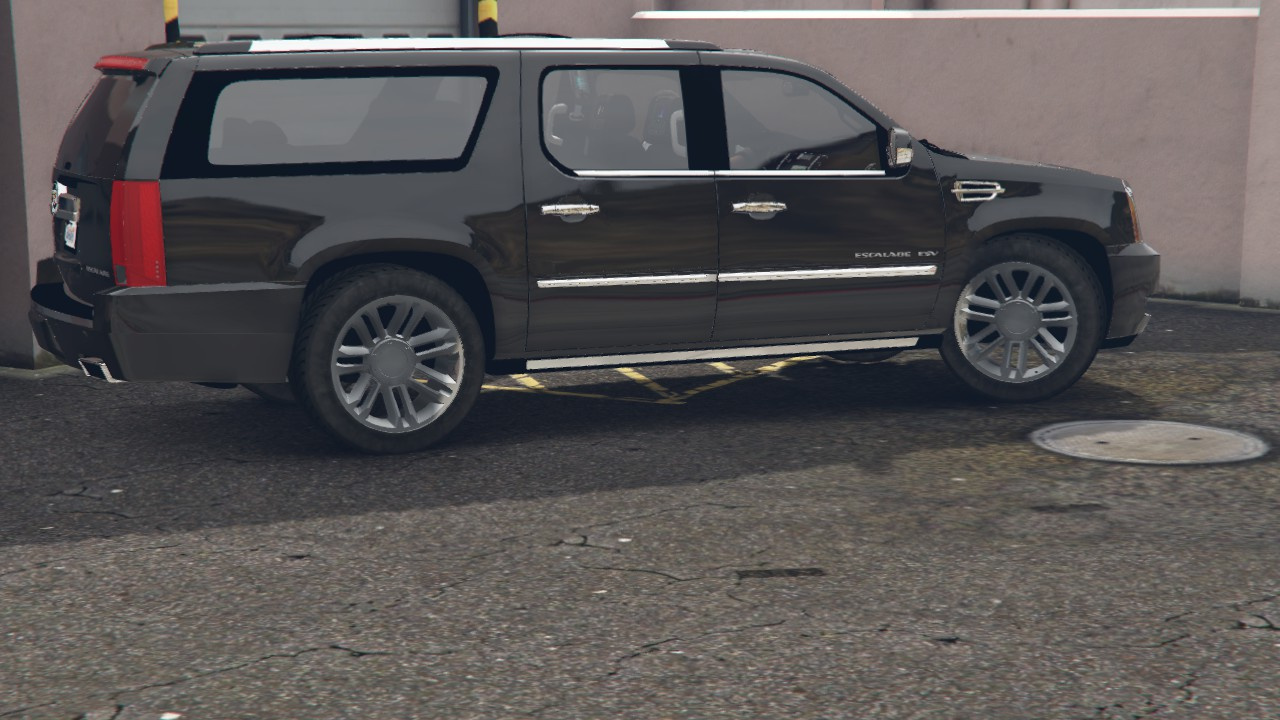 escalade gta for esv cadillac files