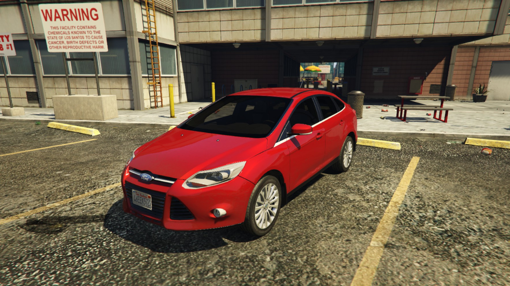 2014 ford focus 3 sedan add on replace gta5. Black Bedroom Furniture Sets. Home Design Ideas
