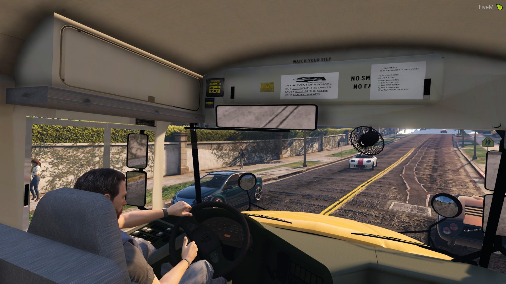 2014 International IC CE - American School Bus - GTA5-Mods com