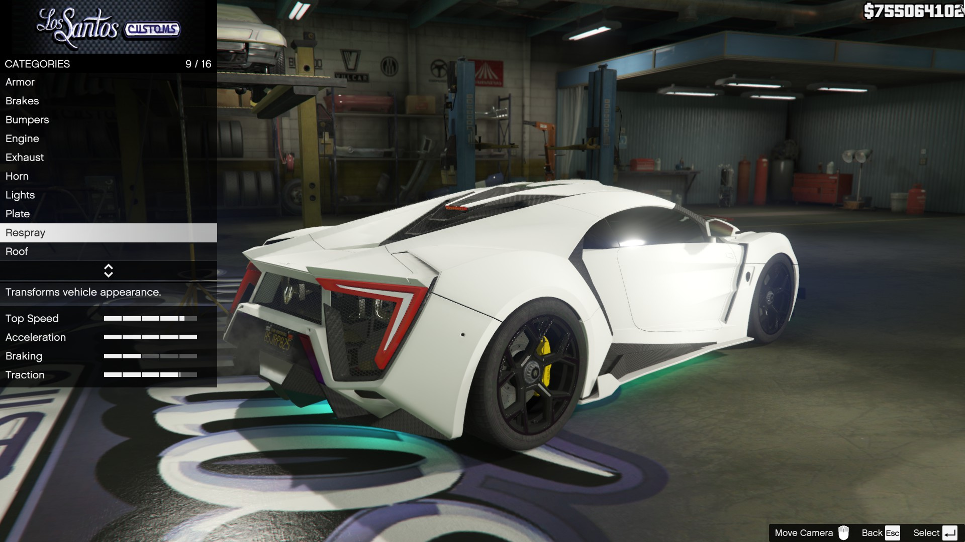 2014 Wmotors Lykan Hypersport Furious 7 Tuning Gta5