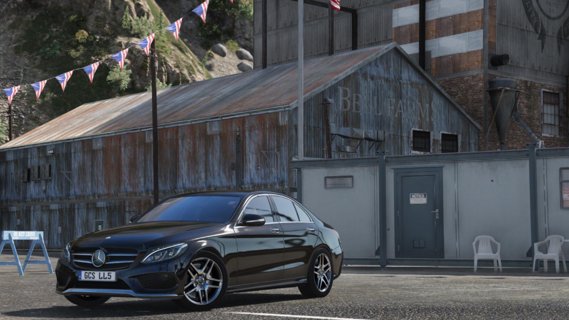 《GTA5》2014年梅赛德斯 - 奔驰C250