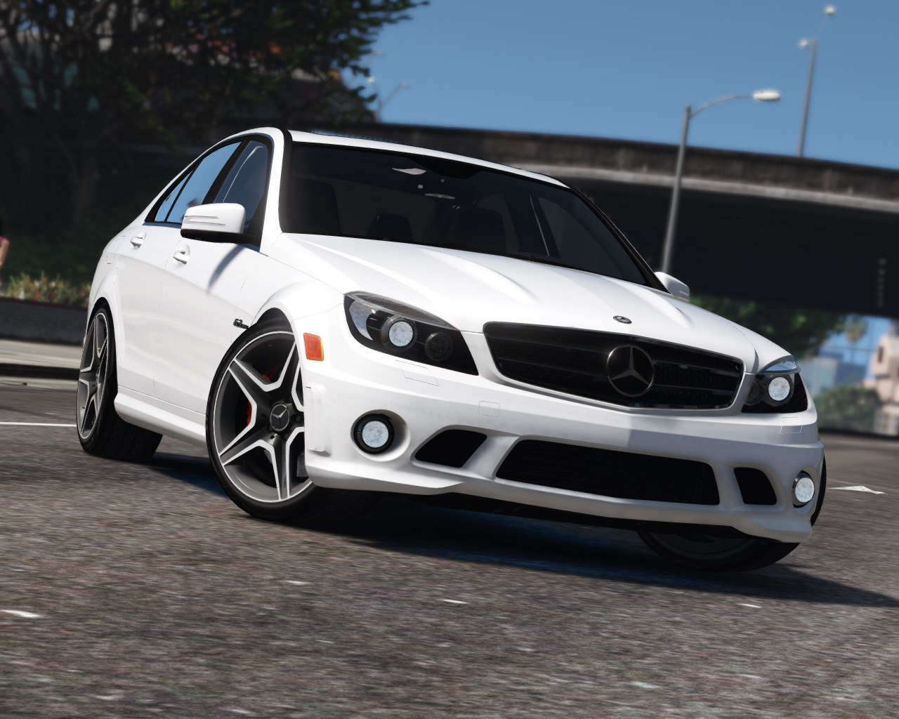 2011 Mercedes-Benz C63 AMG (W204) [Add-On / Replace | Tuning