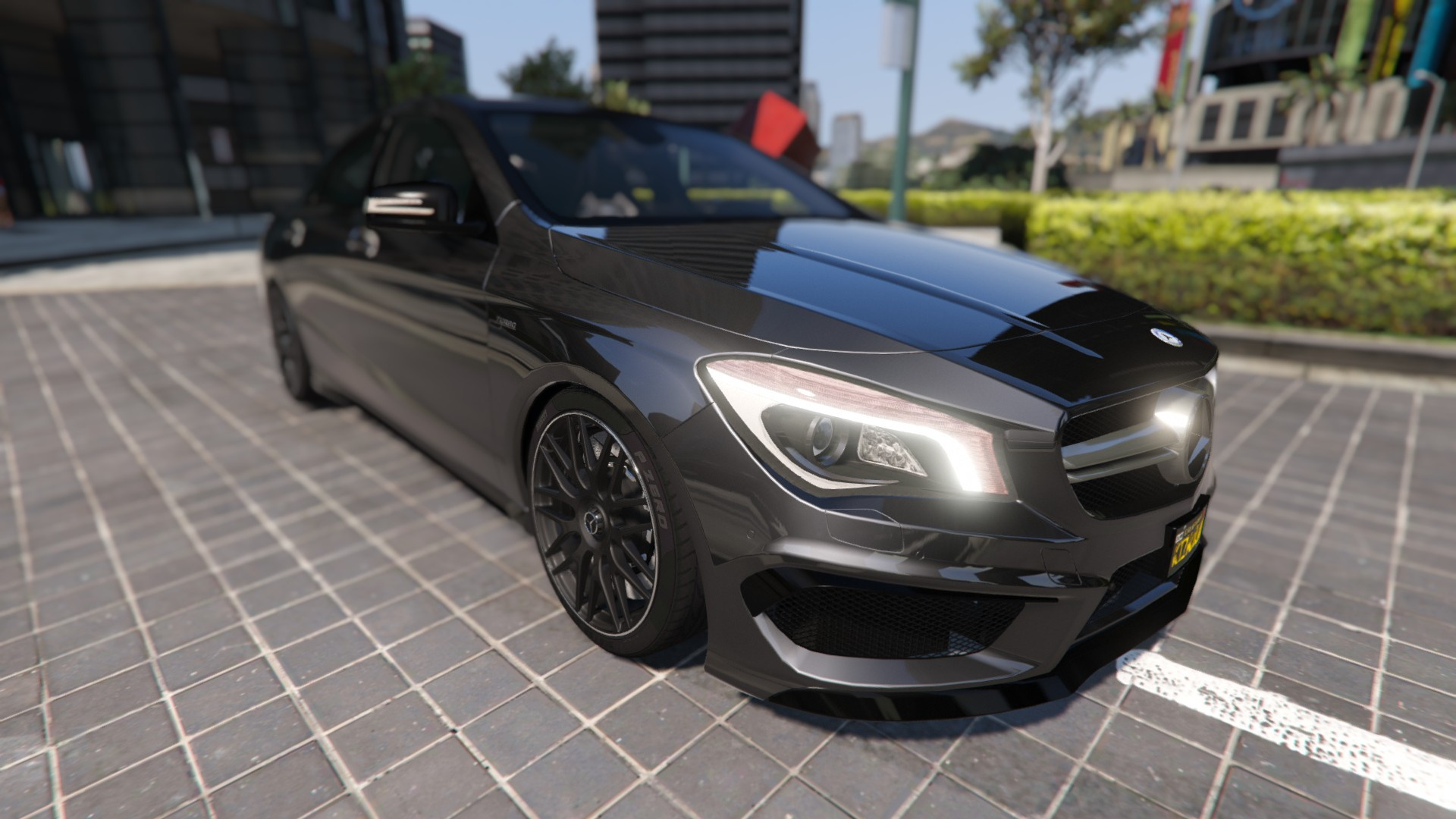 2014 mercedes benz cla 45 amg coupe add on replace for Mercedes benz cla coupe 2014