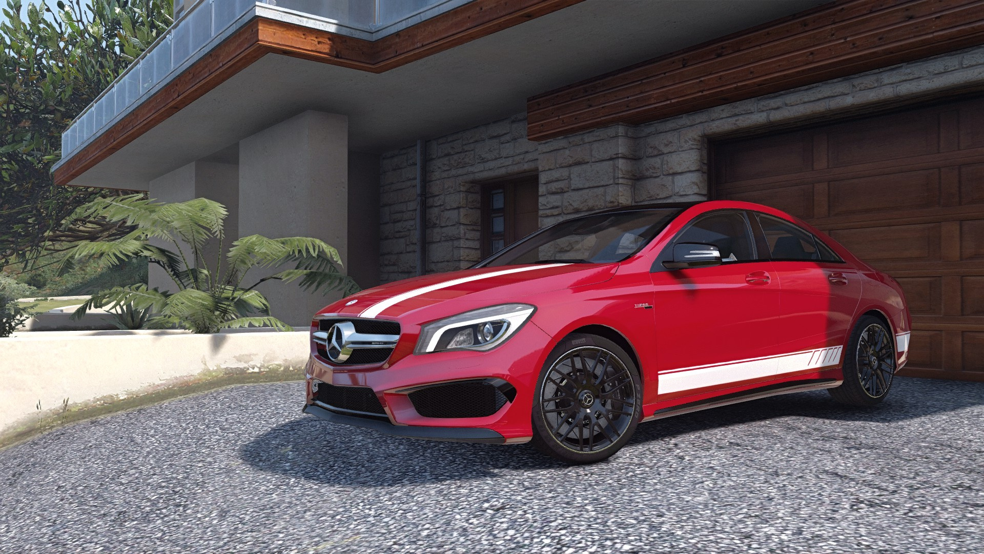 2014 mercedes benz cla 45 amg coupe add on replace. Black Bedroom Furniture Sets. Home Design Ideas