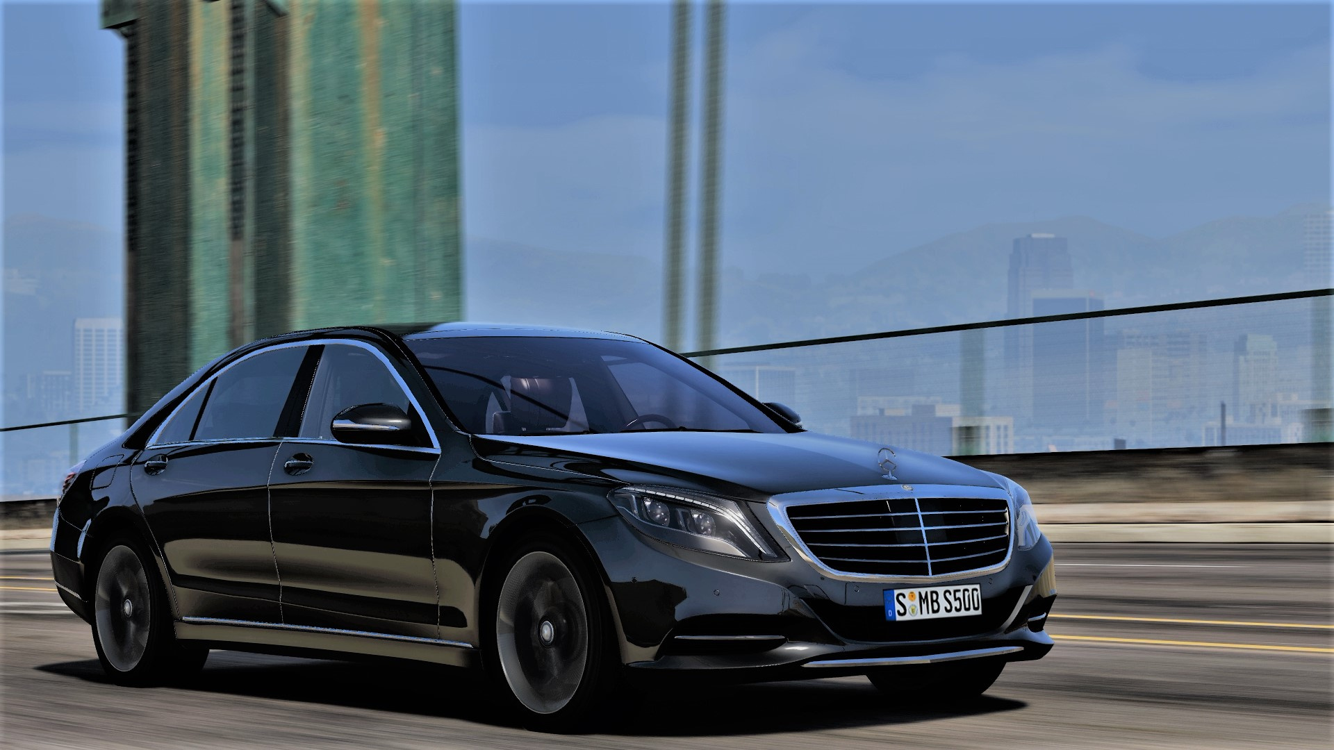 2014 Mercedes Benz S500 L S550 4matic W222 Add On Tuning Gta5 Mods Com