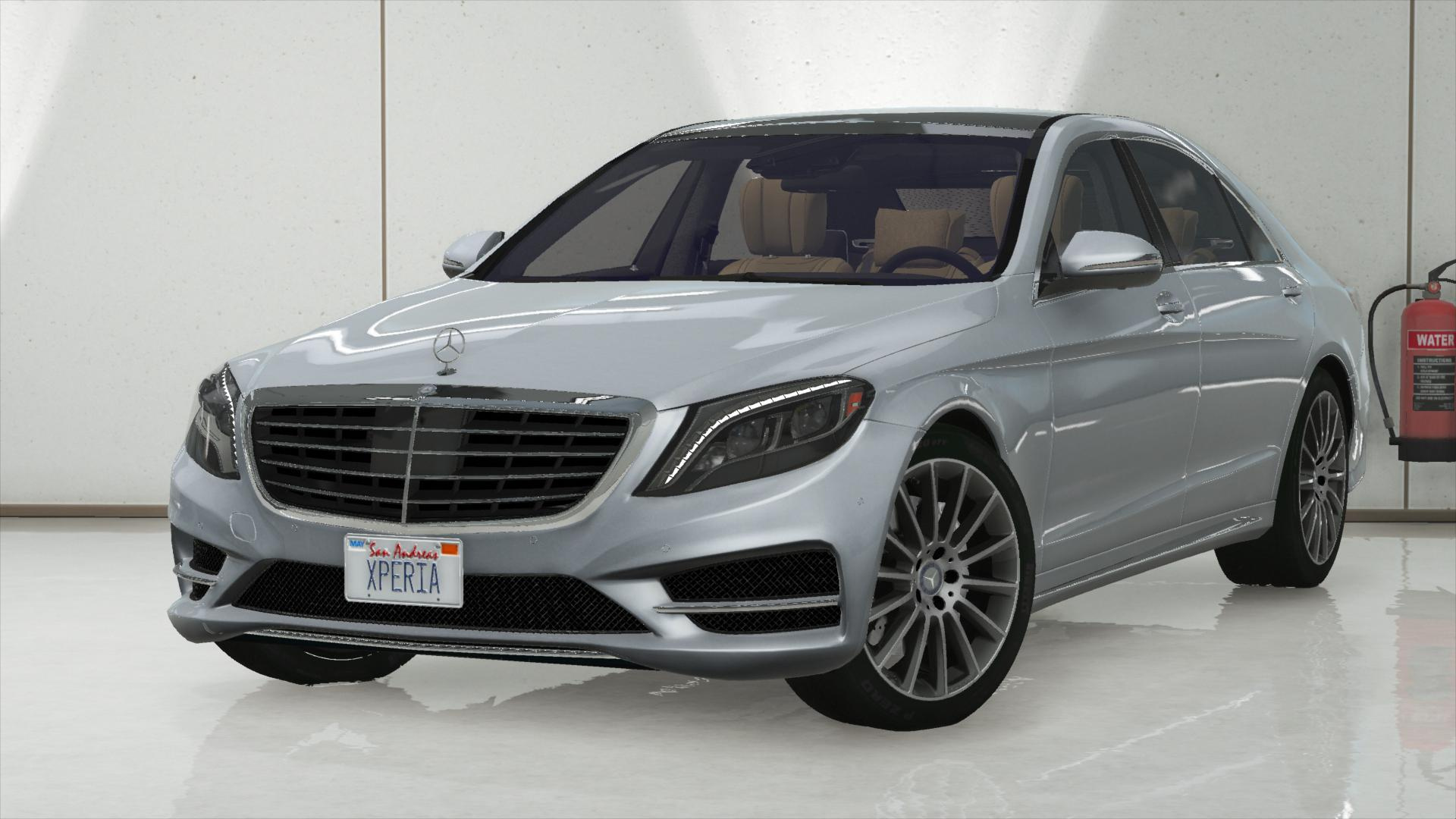 2014 mercedes benz s500 l s550 4matic w222 add on tuning gta5. Black Bedroom Furniture Sets. Home Design Ideas