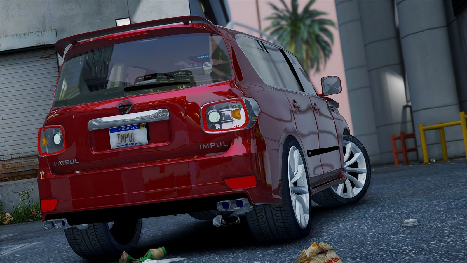 2014 Nissan Patrol Impul для GTA V - Скриншот 2