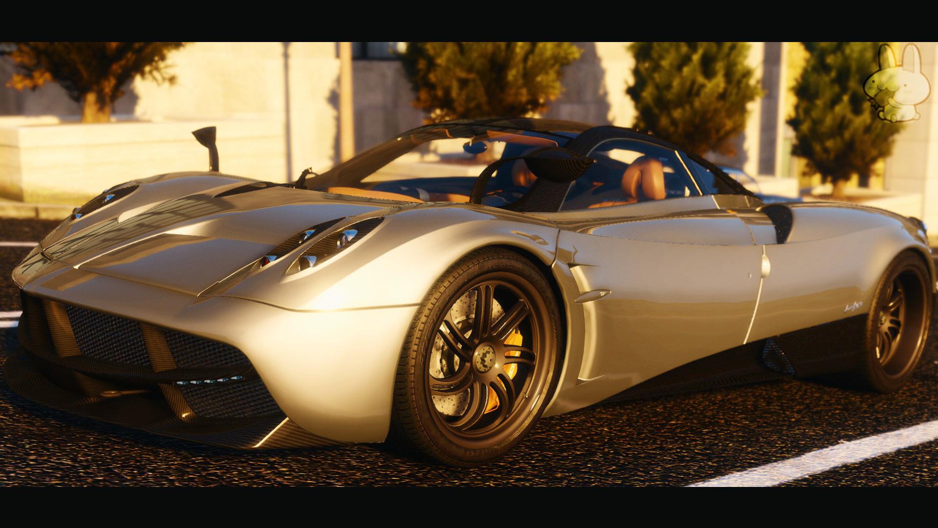 2014 Pagani Huayra Replace Animated Engine Tuning Gta5 Mods Com