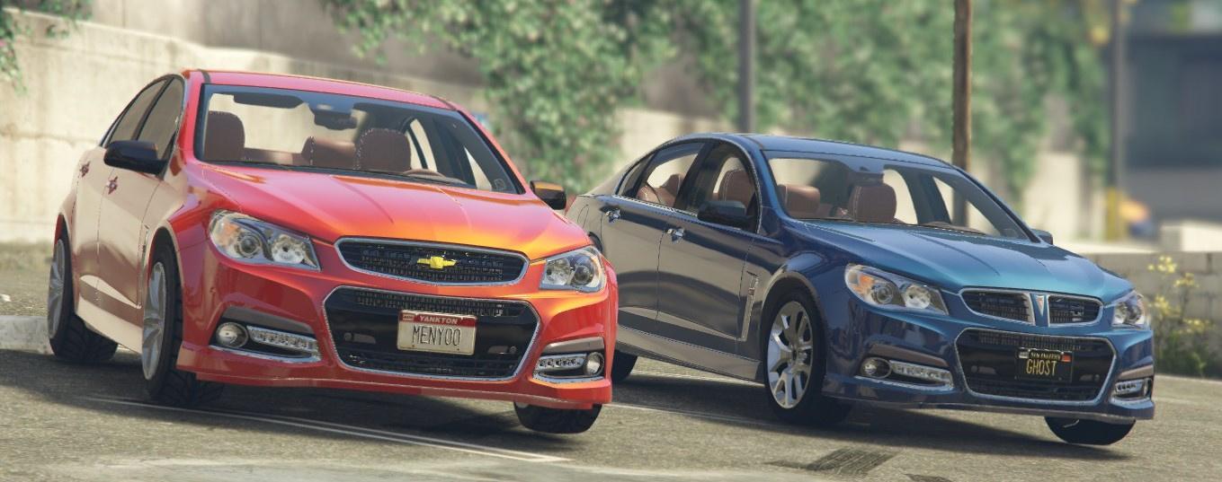 2014 Pontiac G8 Concept [Replace] - GTA5-Mods com