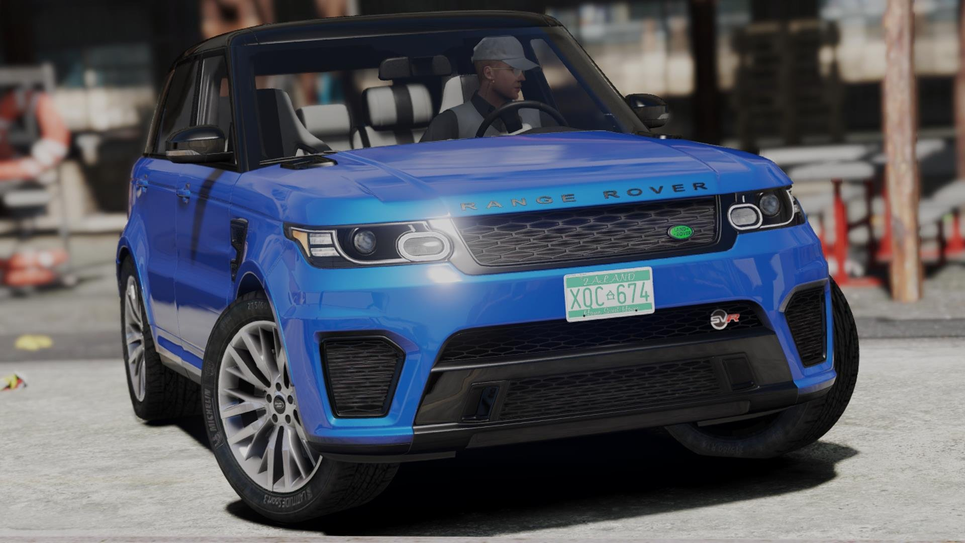 2014 range rover sport svr 5 0 v8 add on replace gta5. Black Bedroom Furniture Sets. Home Design Ideas