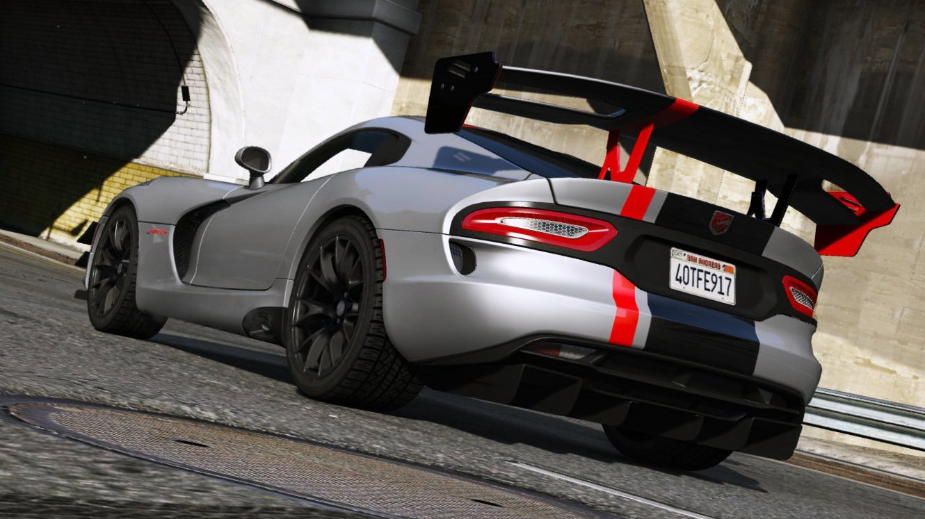 2016 srt viper acr t a add on wipers gta5 mods com