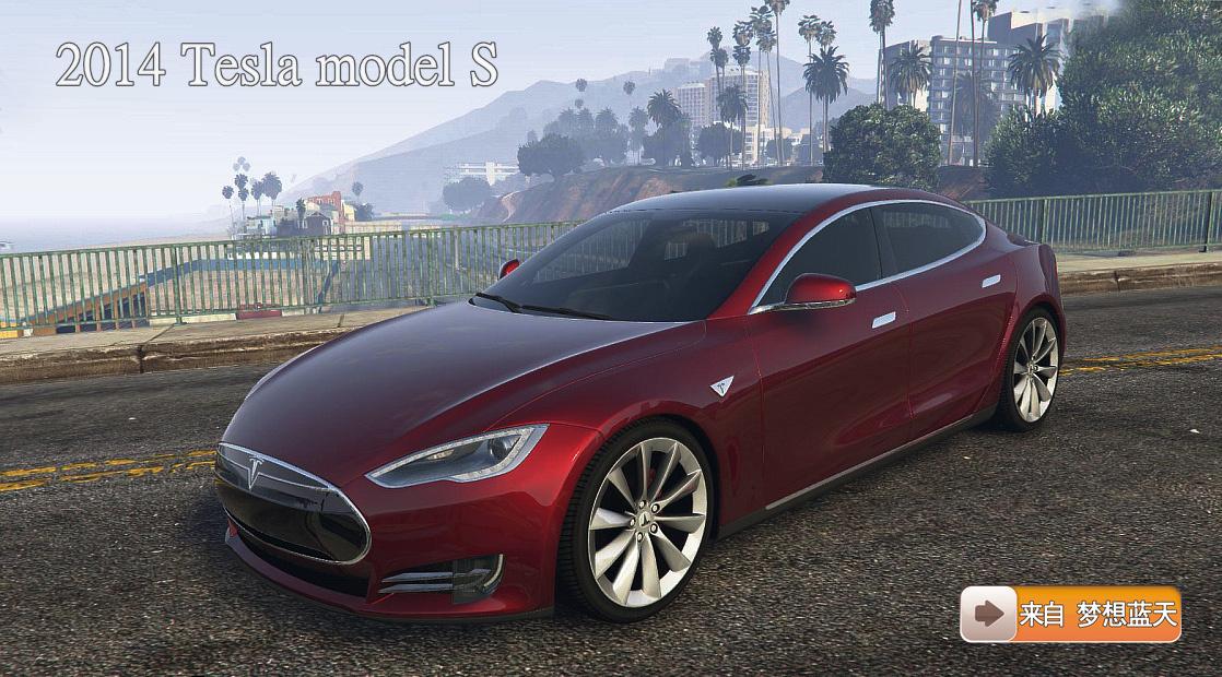 Tesla Model S GTAModscom - 2014 tesla