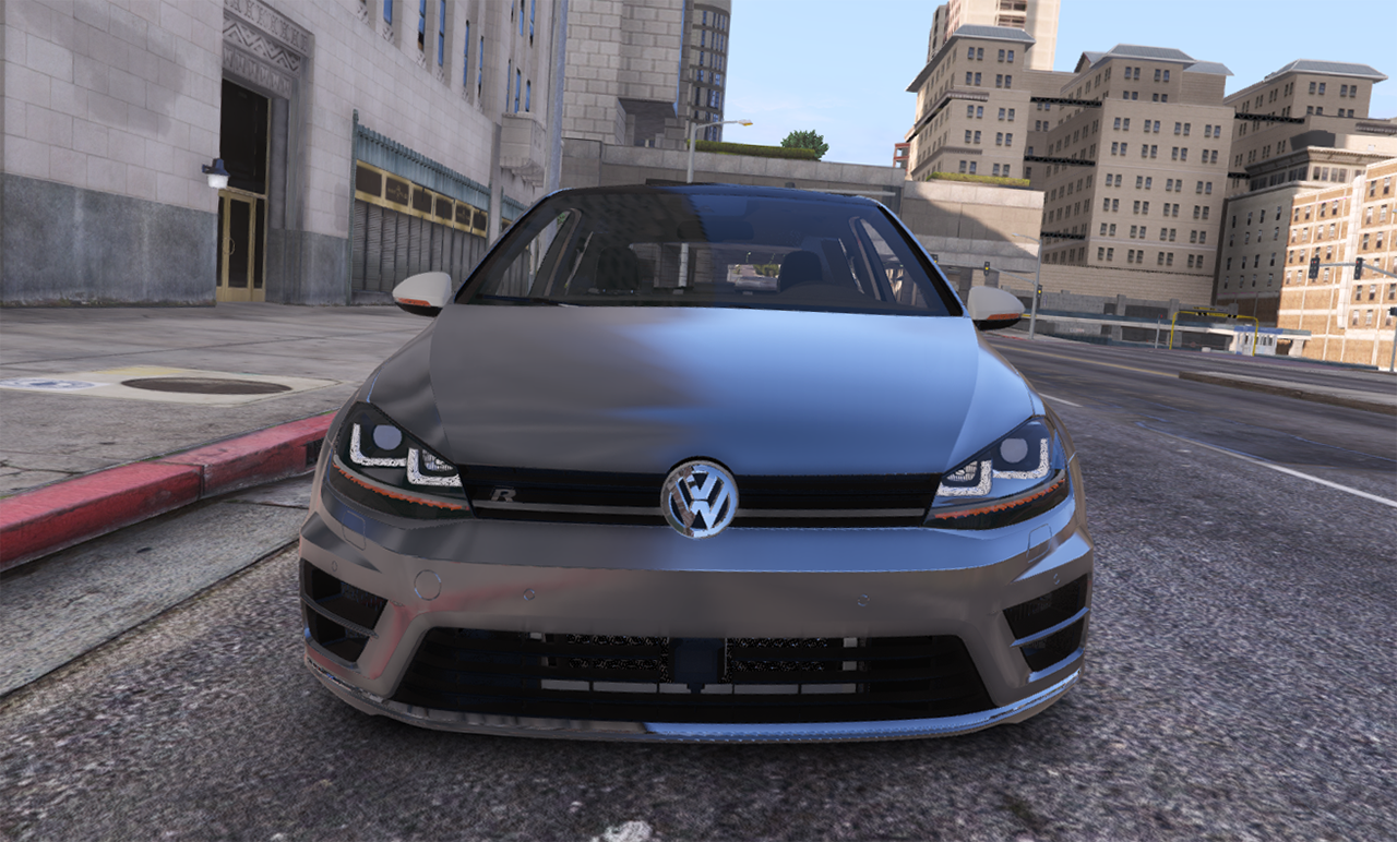 Steering Wheel Shaking >> 2014 Volkswagen Golf R [Add-On/Replace] - GTA5-Mods.com