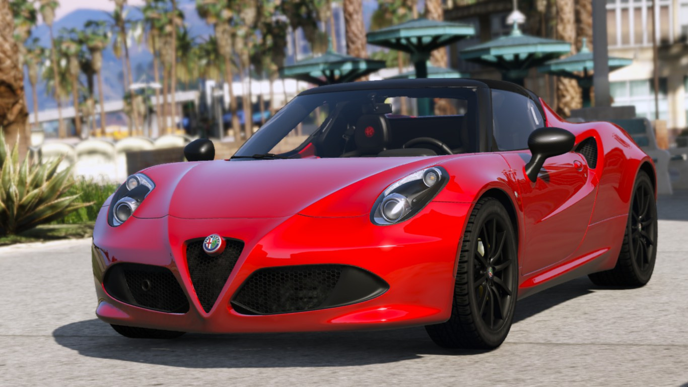 2017 Alfa Romeo 4c Spider Add On