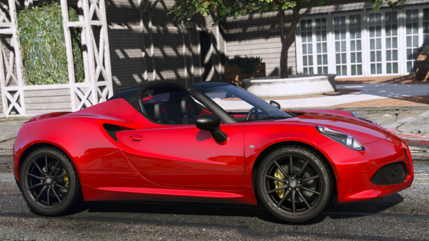 2015 alfa romeo 4c spider add on gta5. Black Bedroom Furniture Sets. Home Design Ideas