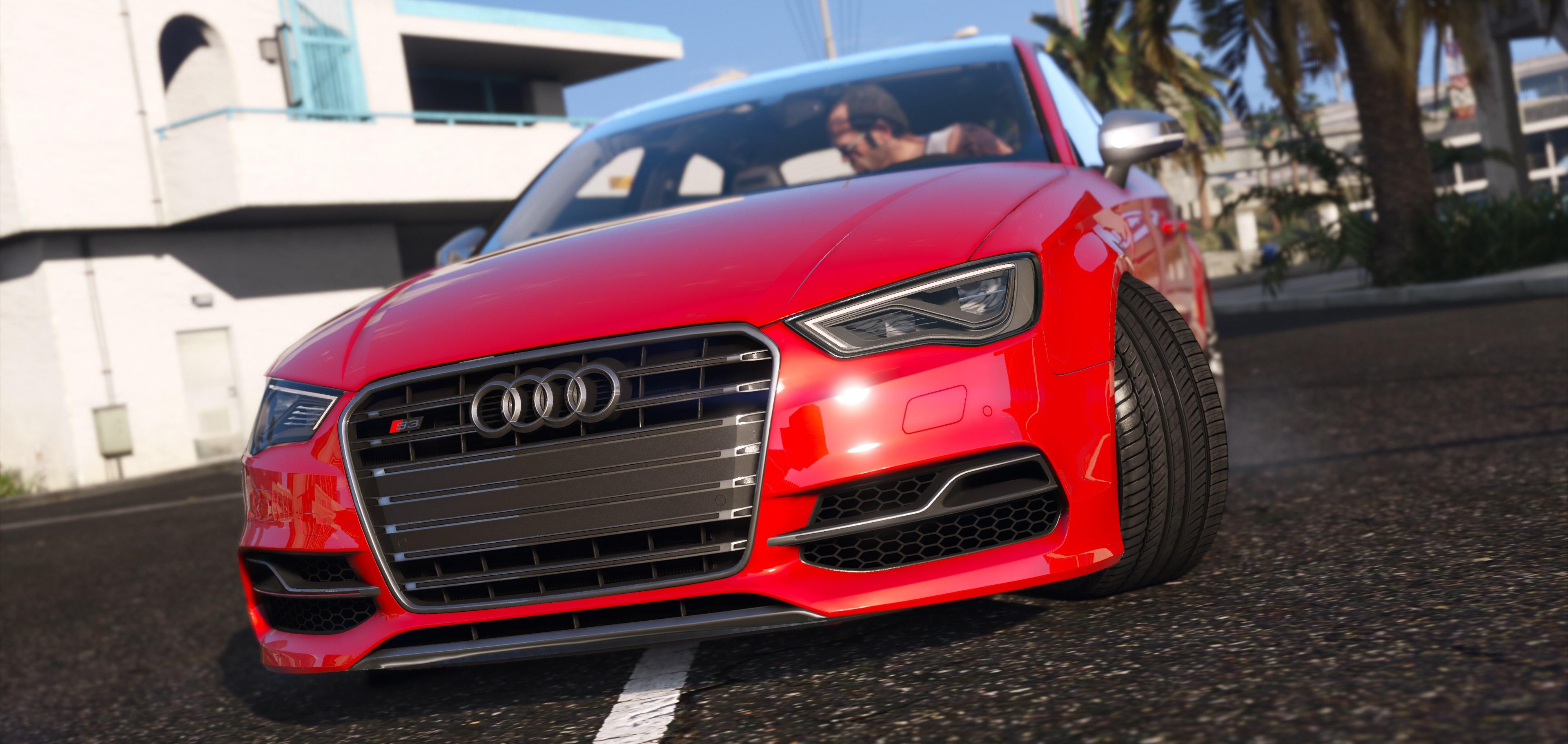 2015 Audi A3 S3 Sedan Gta5 Mods Com