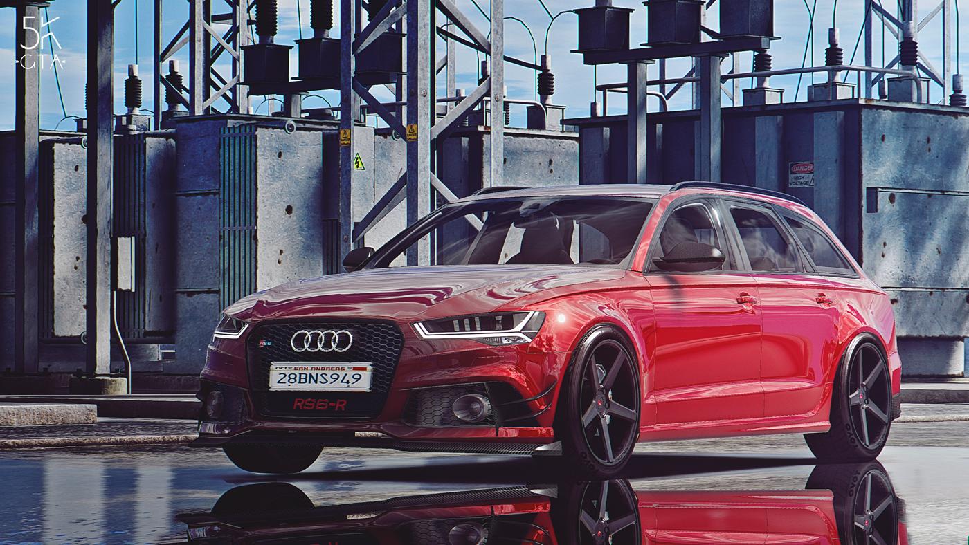 2015 Audi Rs6 Add On Abt Tuning Gta5 Mods Com