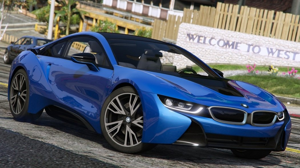 2015 BMW I8 I12 Add On