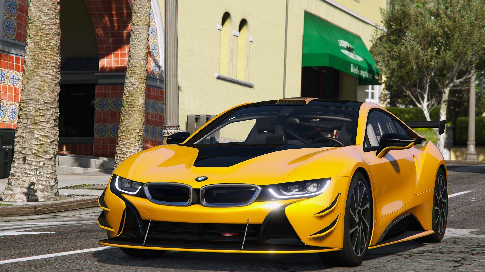 2015 bmw i8 i12 add on gta5. Black Bedroom Furniture Sets. Home Design Ideas