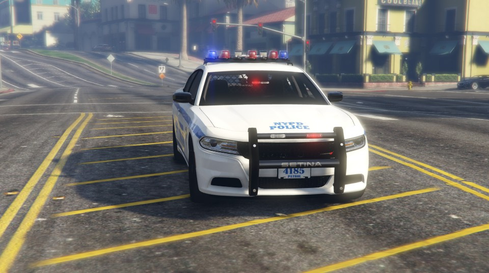 Police Dodge Charger Beta Roblox 2015 Dodge Charger Nypd Texture Gta5 Mods Com