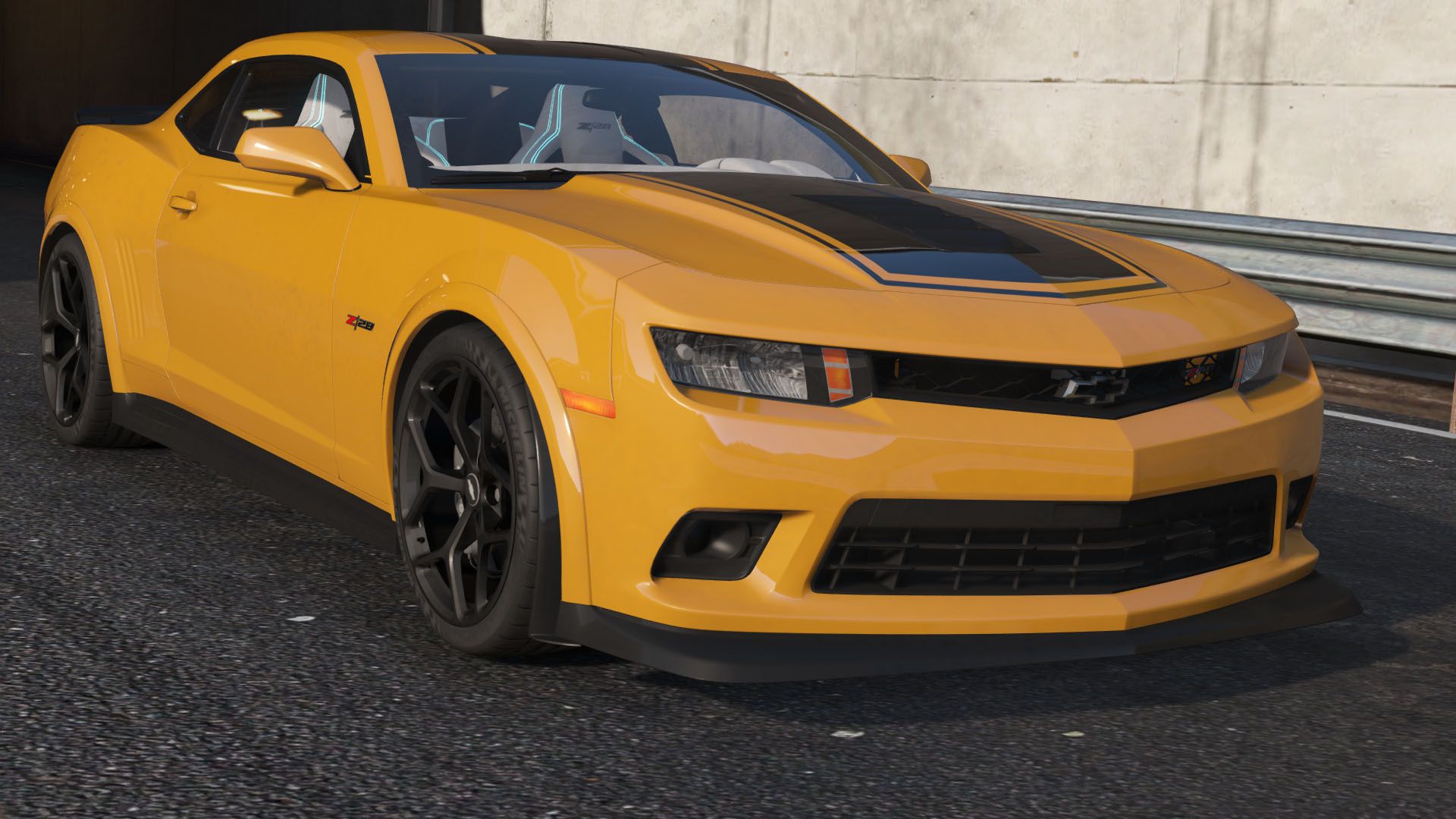 2015 chevrolet camaro z28 applique livery gta5. Black Bedroom Furniture Sets. Home Design Ideas