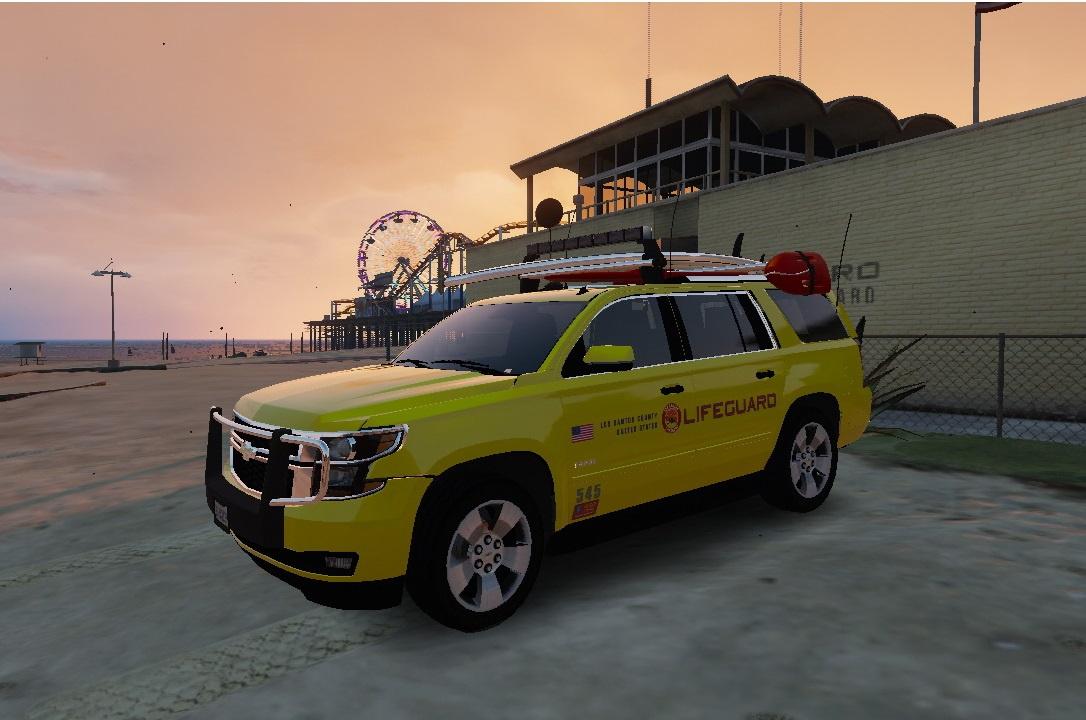 2015 Chevrolet Tahoe Lifeguard Gta5 Mods Com