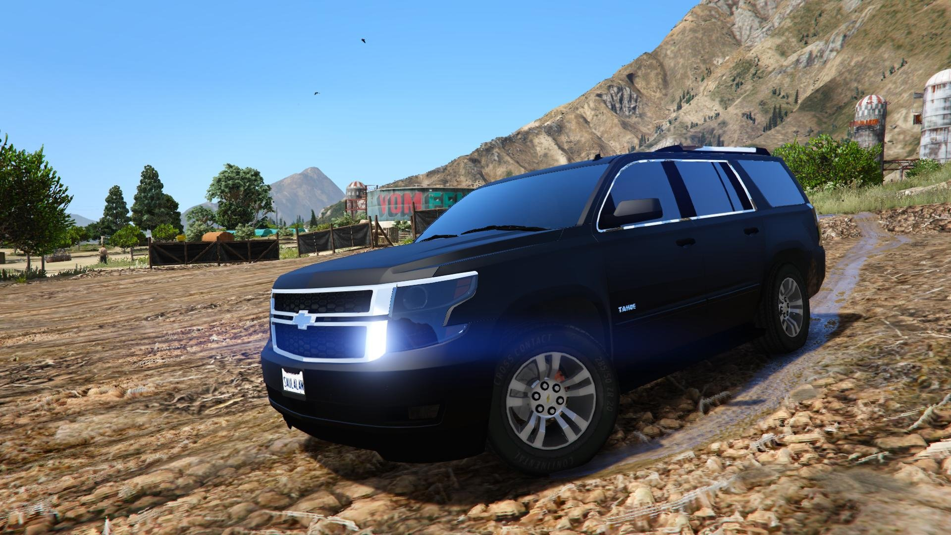 2015 chevrolet tahoe add on replace unlocked gta5. Black Bedroom Furniture Sets. Home Design Ideas