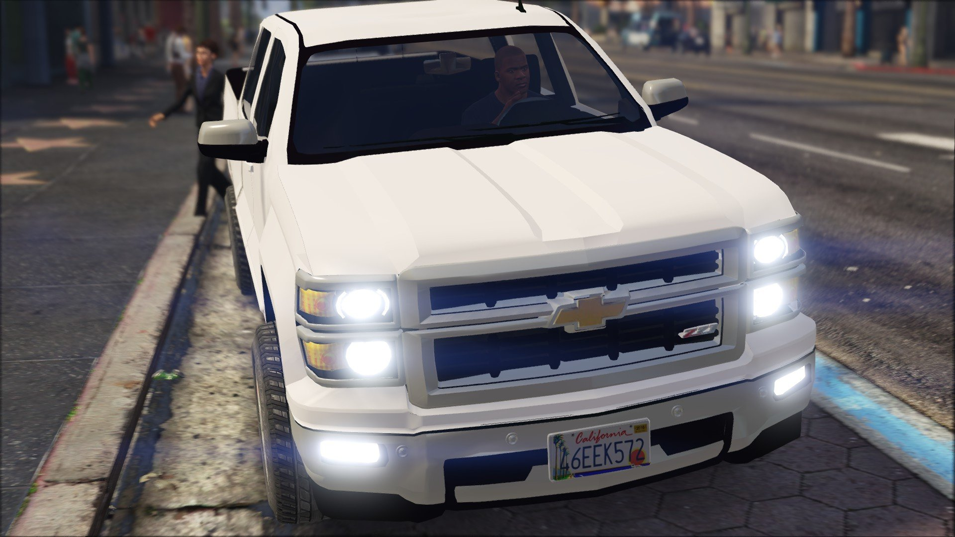 first act grille chevy rig big chevrolet like impression hd silverado ltz dually trucks look and a