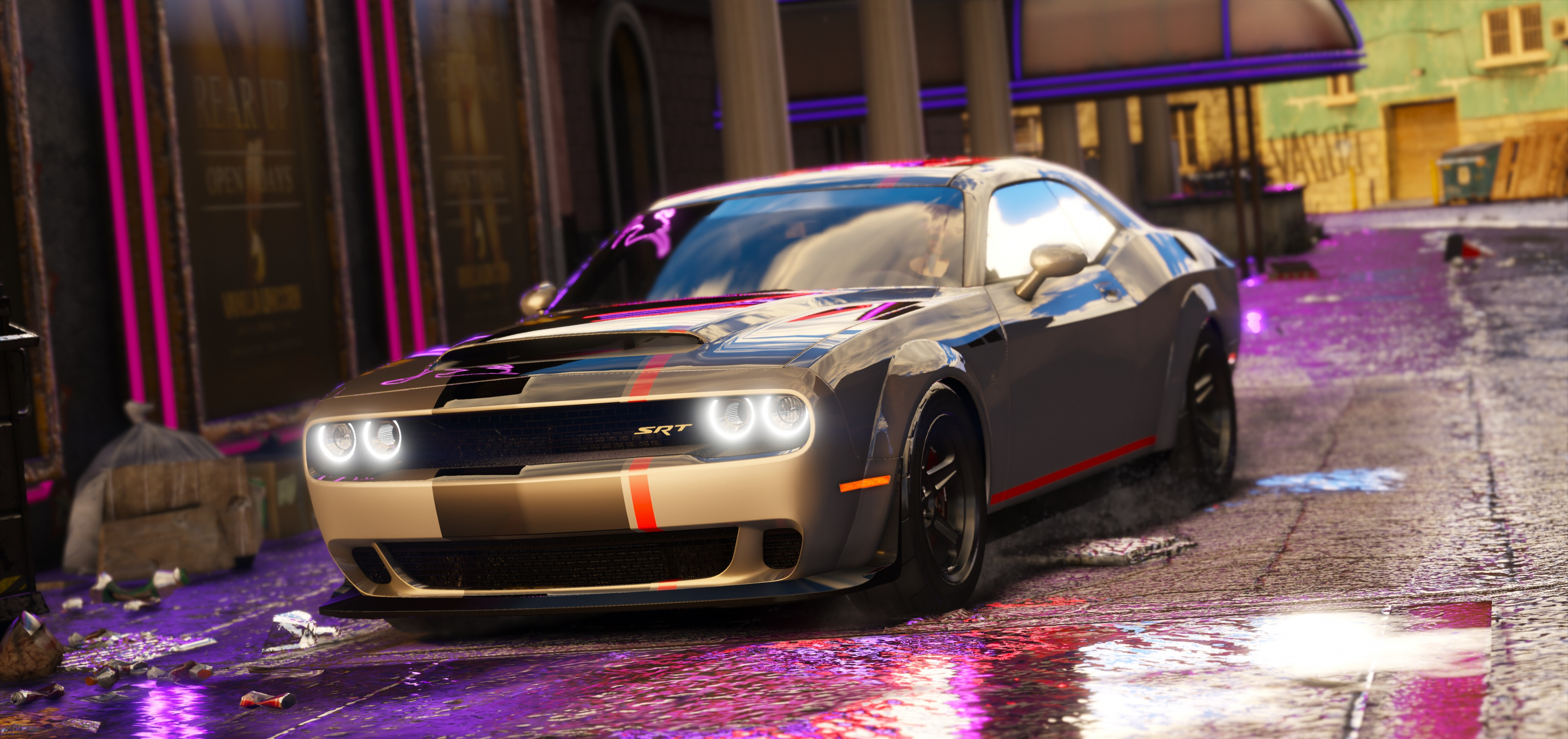 2016 Dodge Challenger Shaker Hellcat Demon Liberty Walk