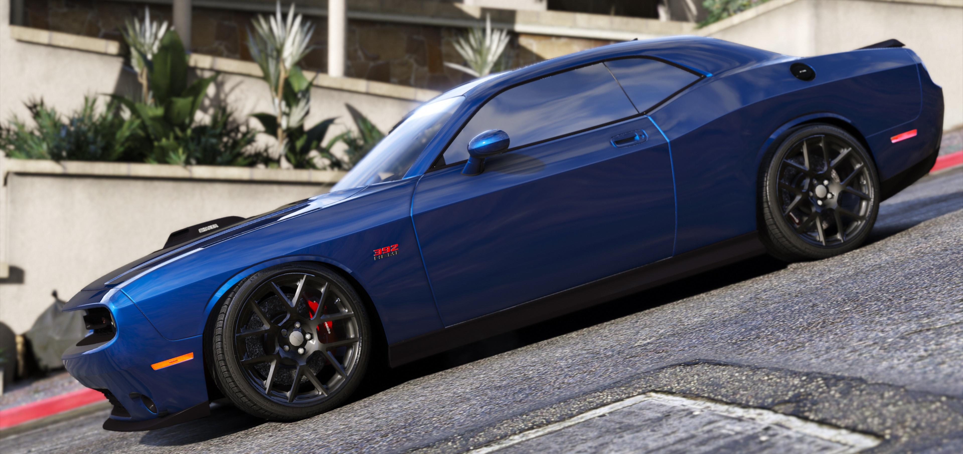 2016 Dodge Challenger Shaker Hellcat Demon Liberty Walk