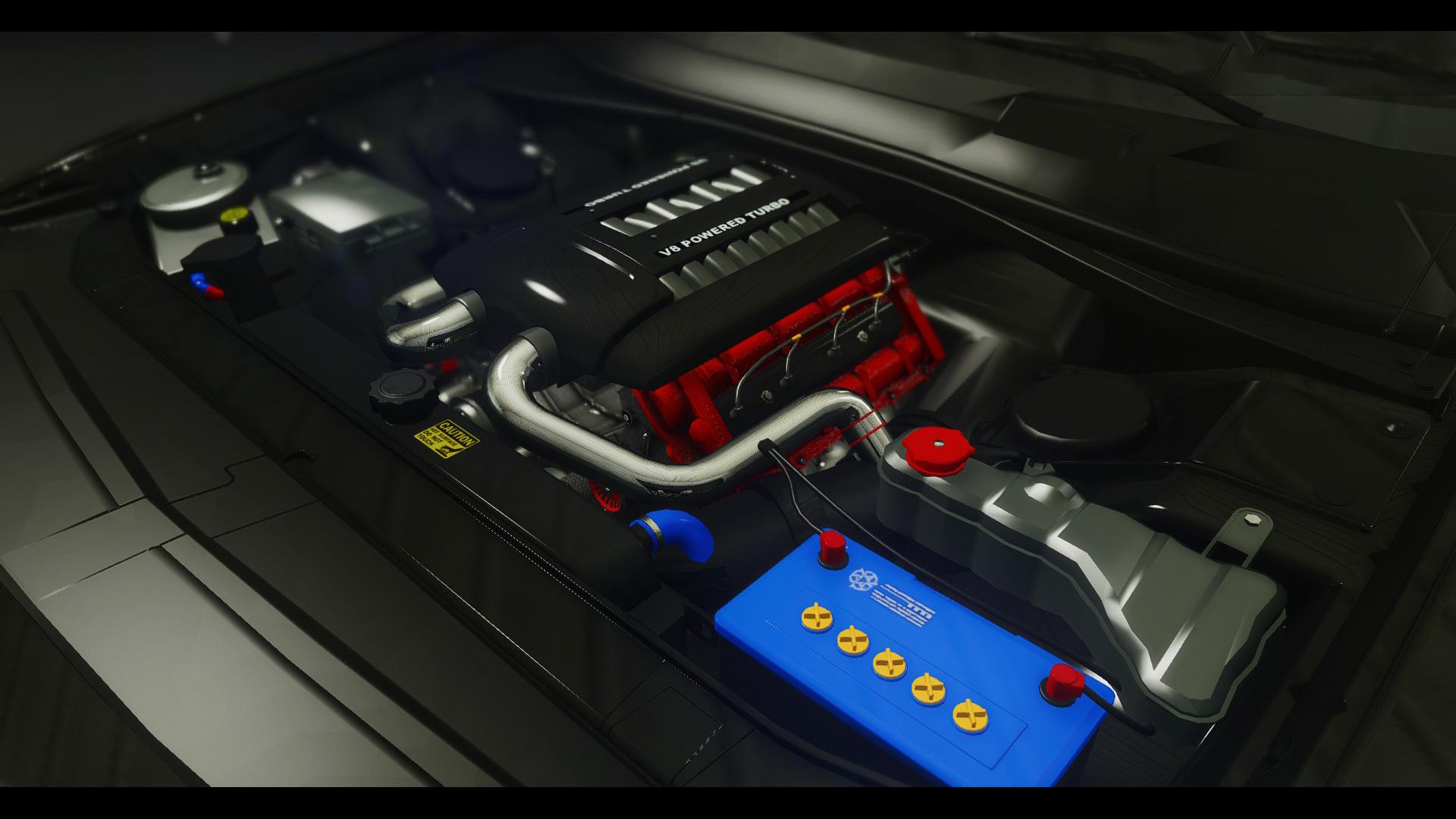 Dodge car tuning part 3 - C2778c Engine